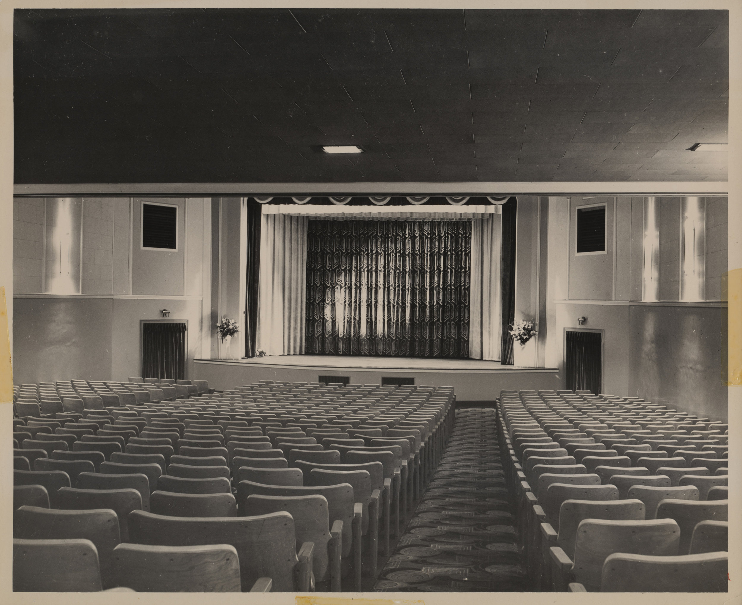 New Appalachian Theatre Stage, 1950