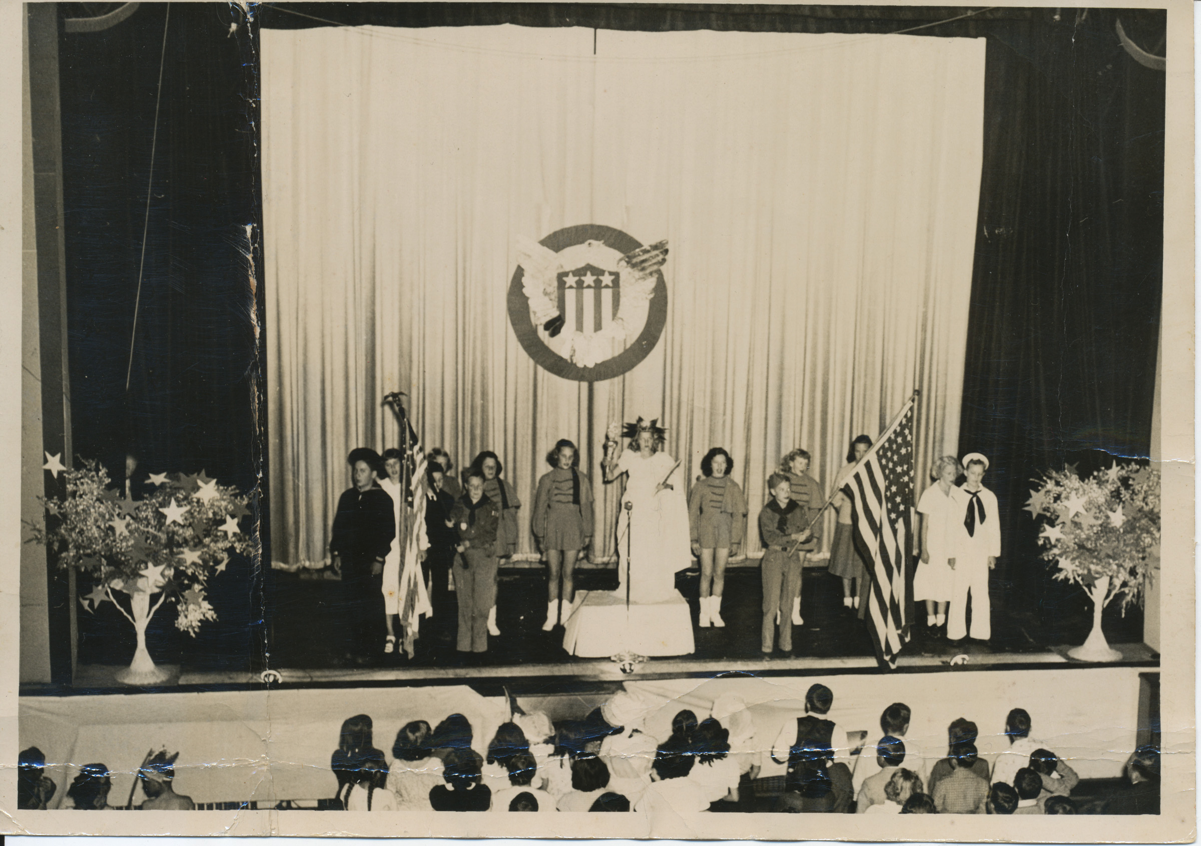 School Performance, Appalachian Theatre, Circa 1949