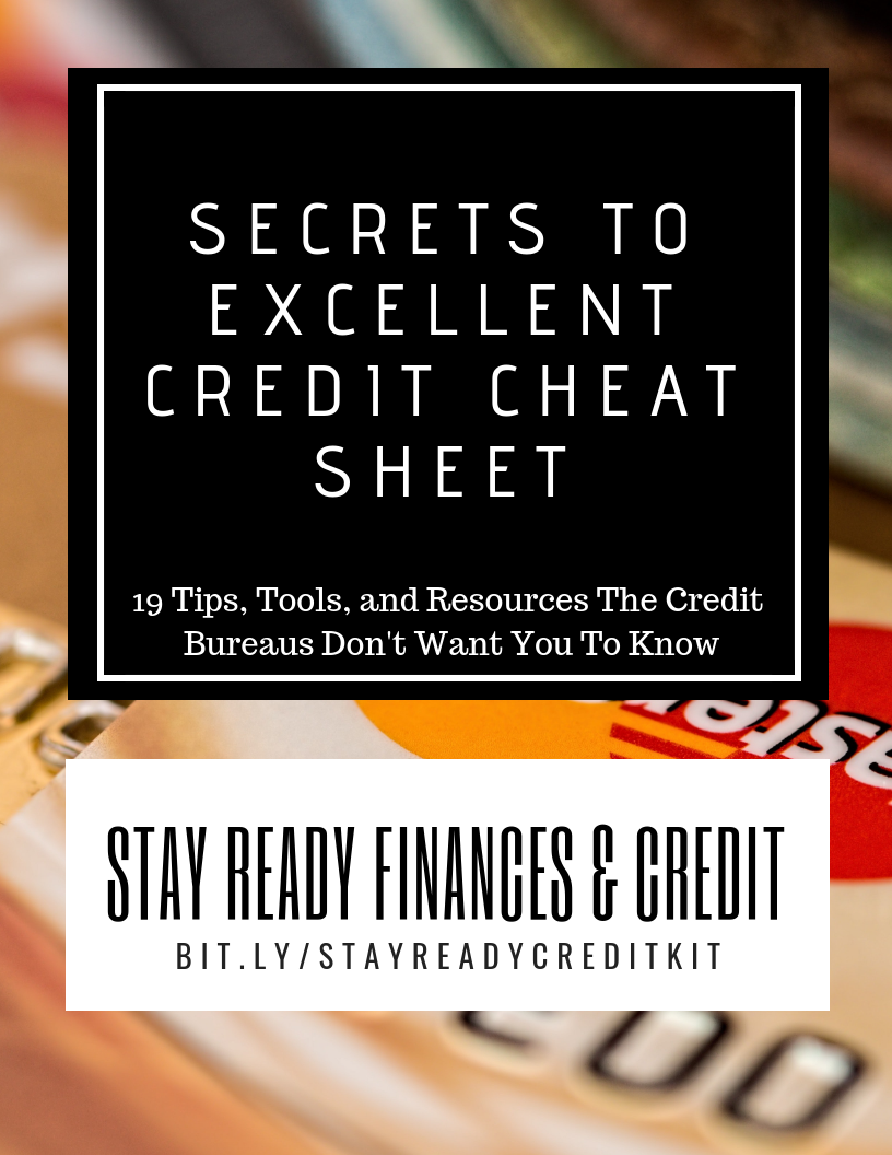 Secrets To Excellent Credit Cheat Sheet! -