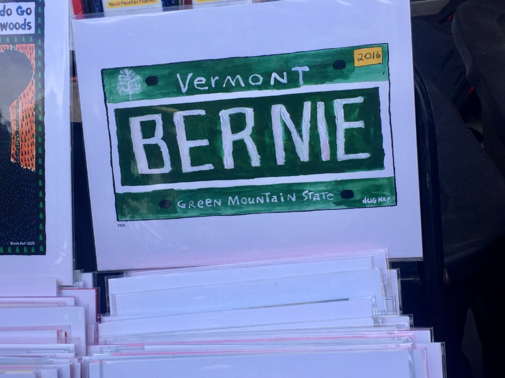 Vermont- the Bernie State