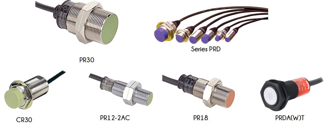 Series PR sensors.