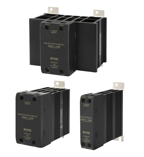 Solid state relays, high reliability.