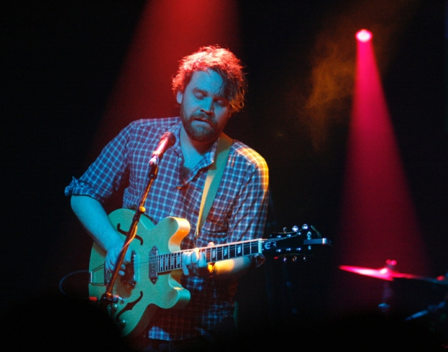 Scott Hutchison performing at SXSW in 2010. Photo by Eric R. Danton.