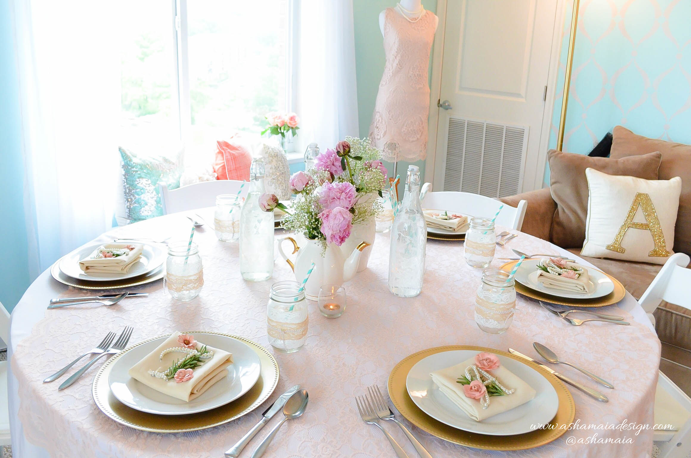 Lace & Pearls Bridal Shower Brunch