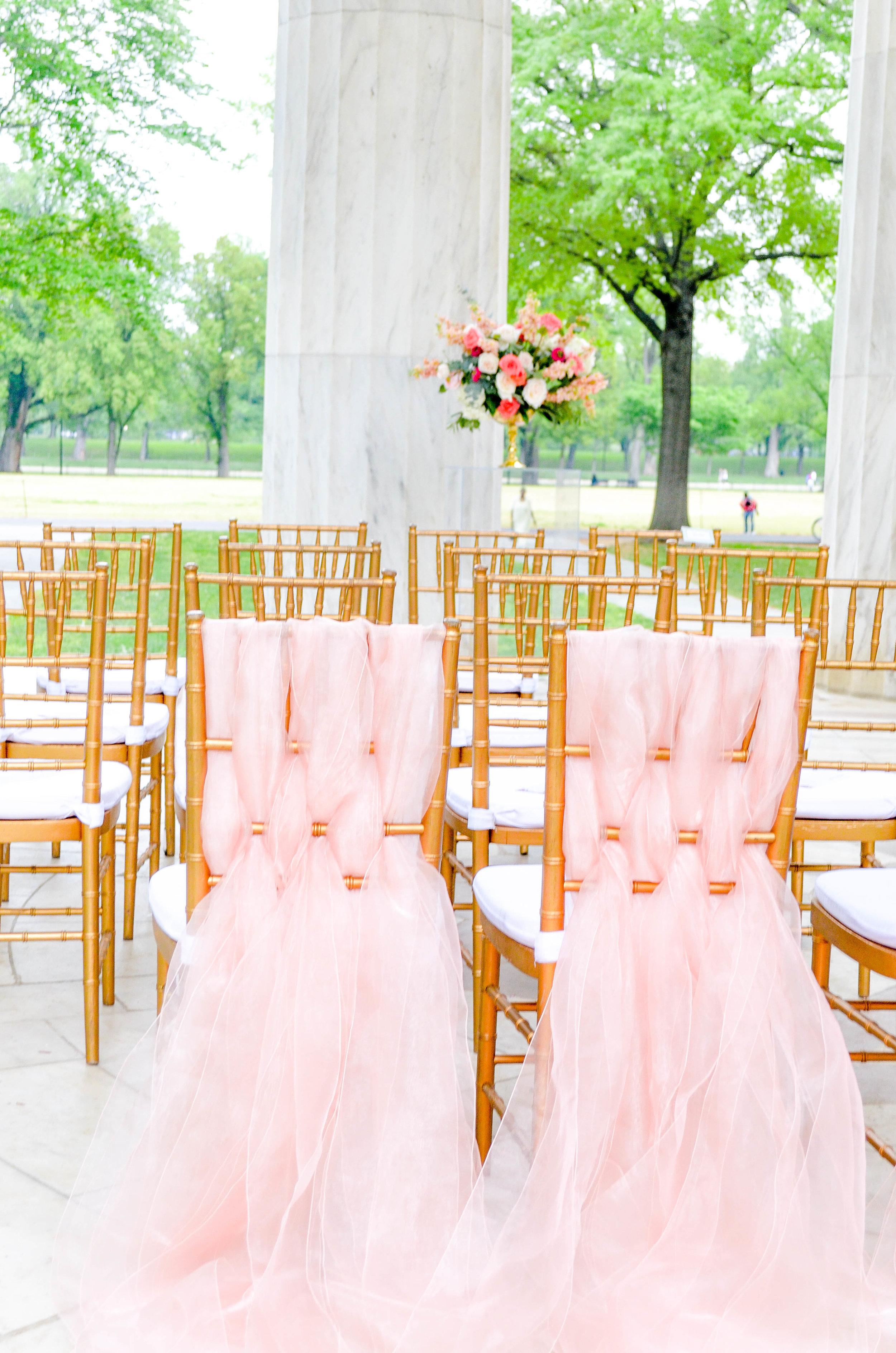 Whimsical Coral Wedding