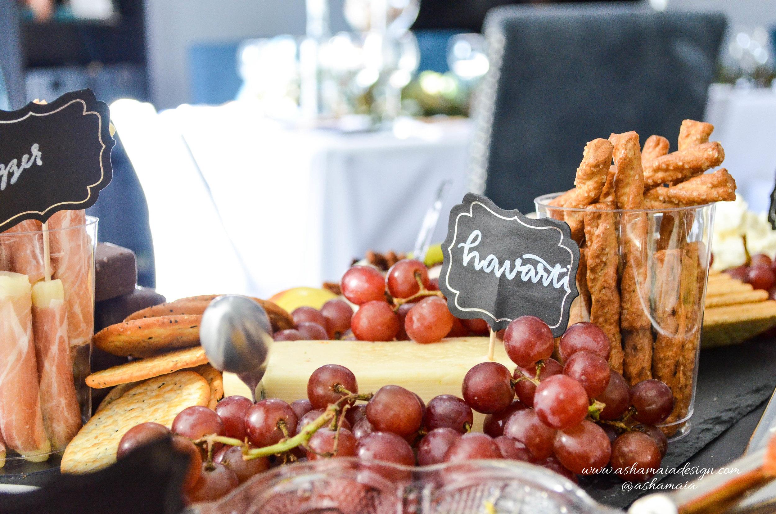 Wine Tasting - Charcuterie Table