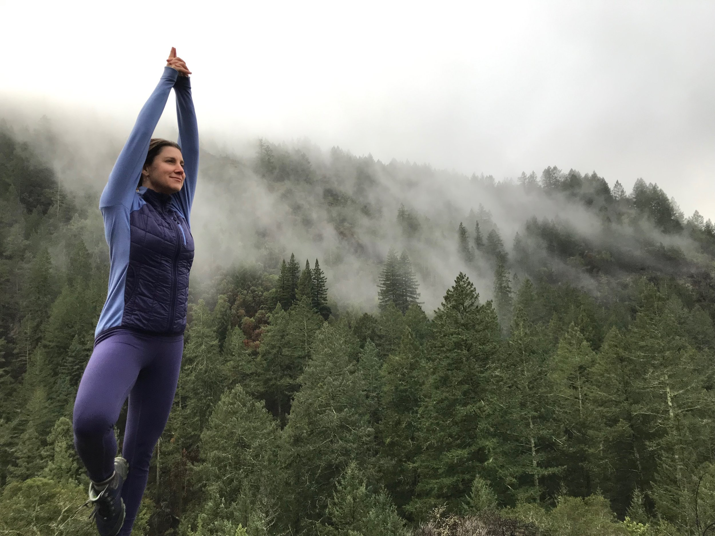 Tree pose in…well, look around!