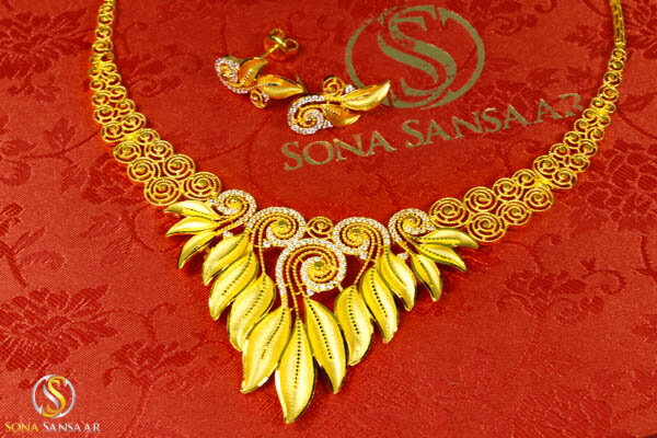 22kt Pure Gold Jewellery Sona Sansaar