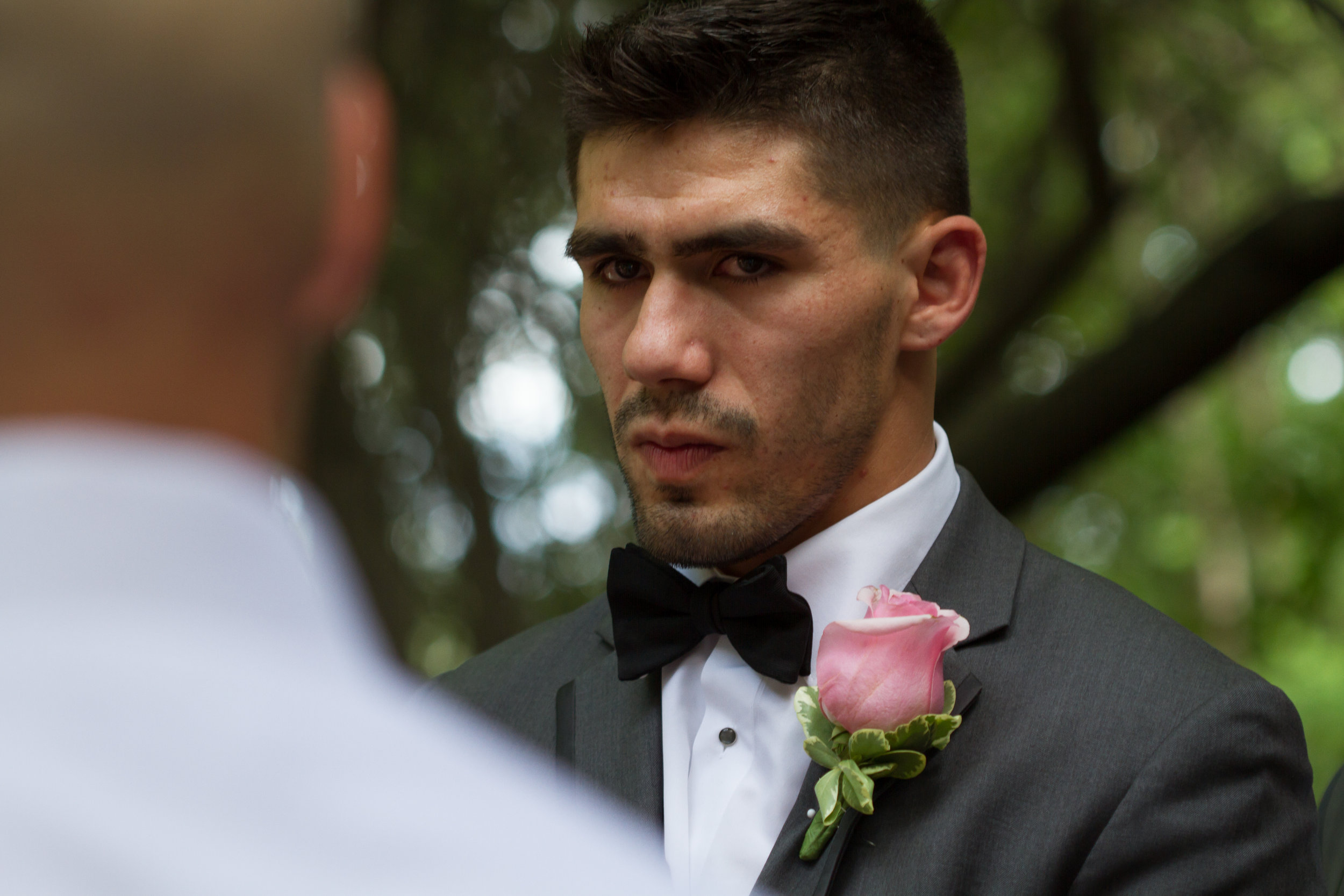 Grooms first look!