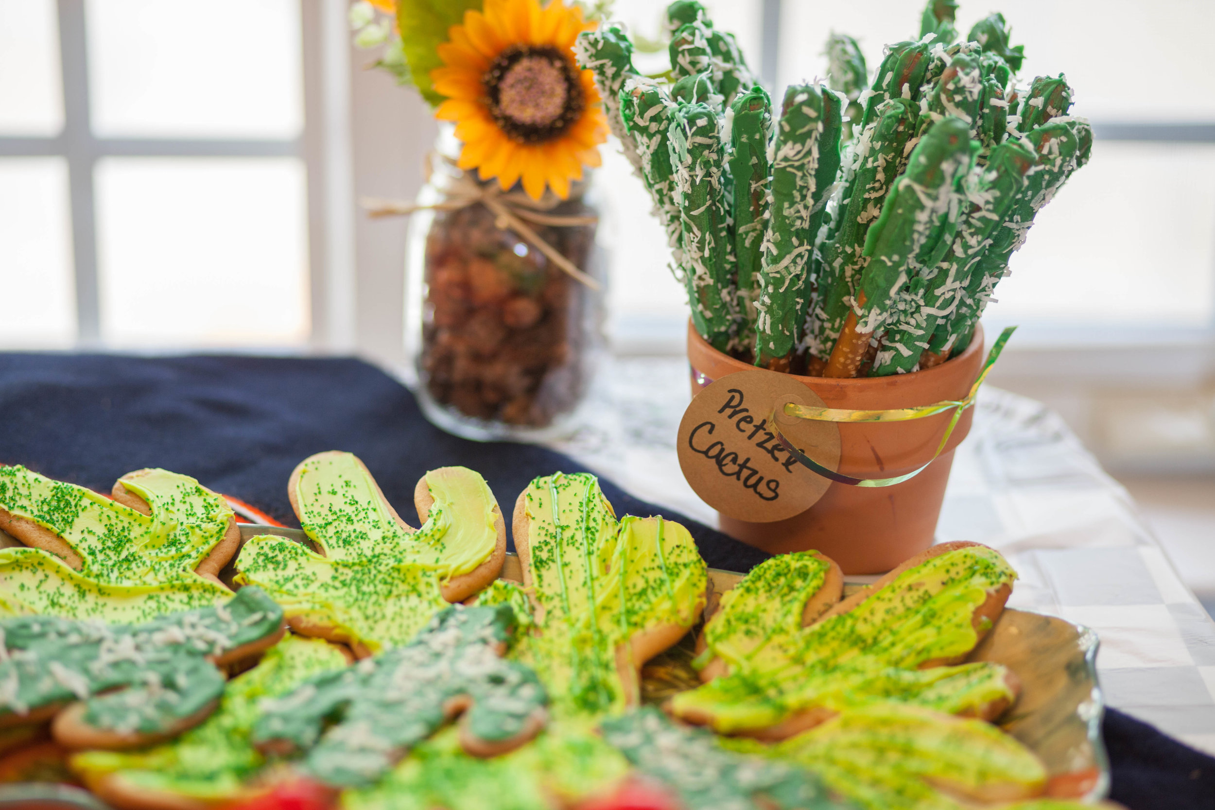 These cacti pretzels where a HUGE hit!