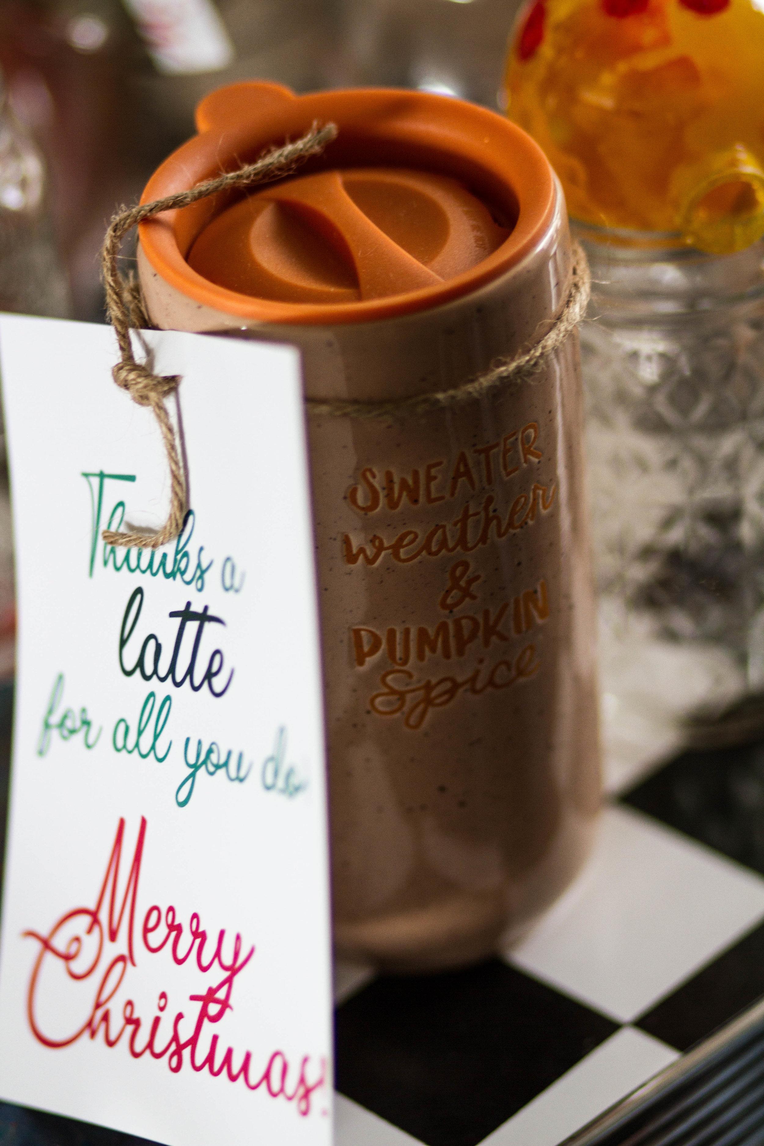 A cute mug for his teacher!