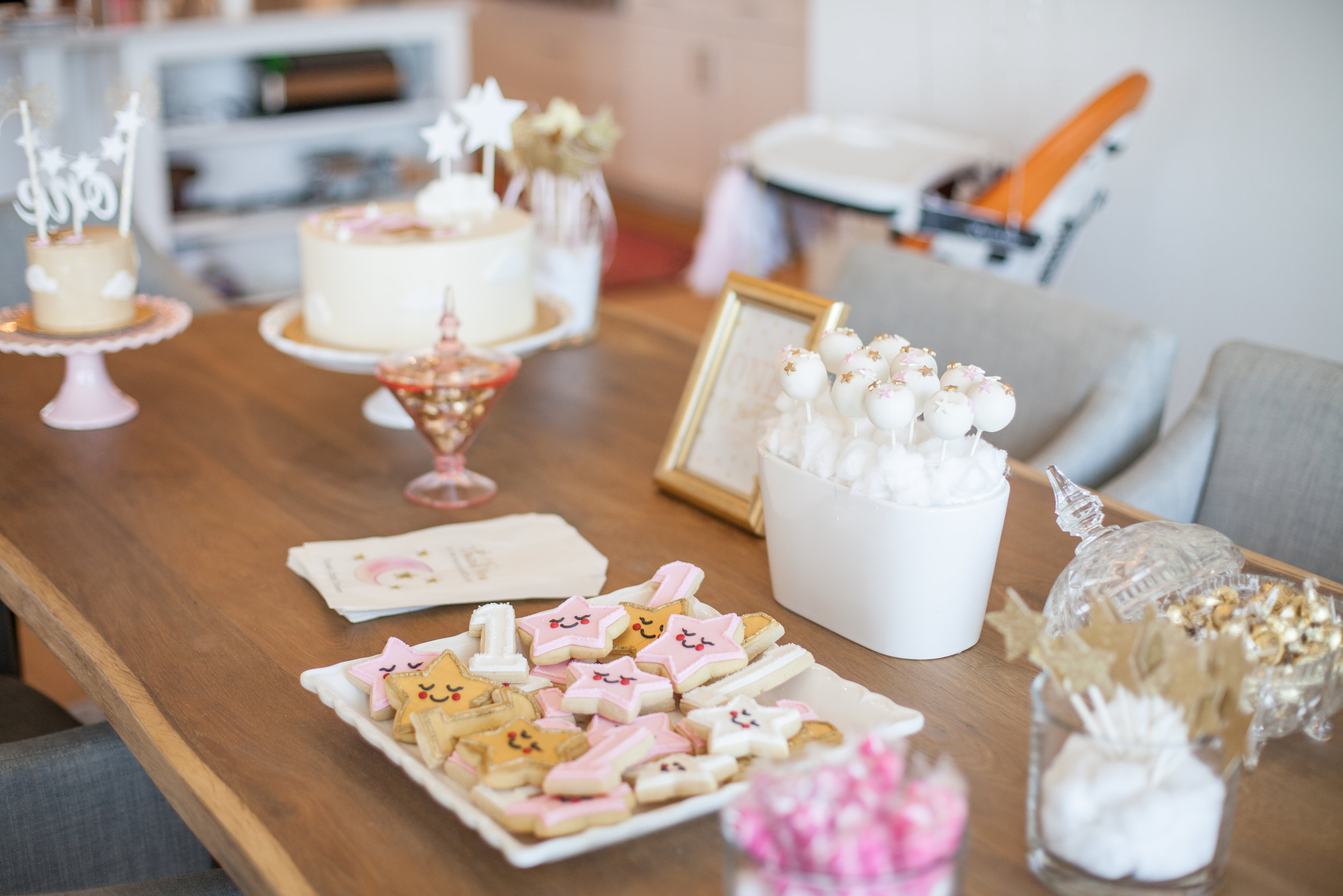 first birthday event photography by Tauni Joy Photography