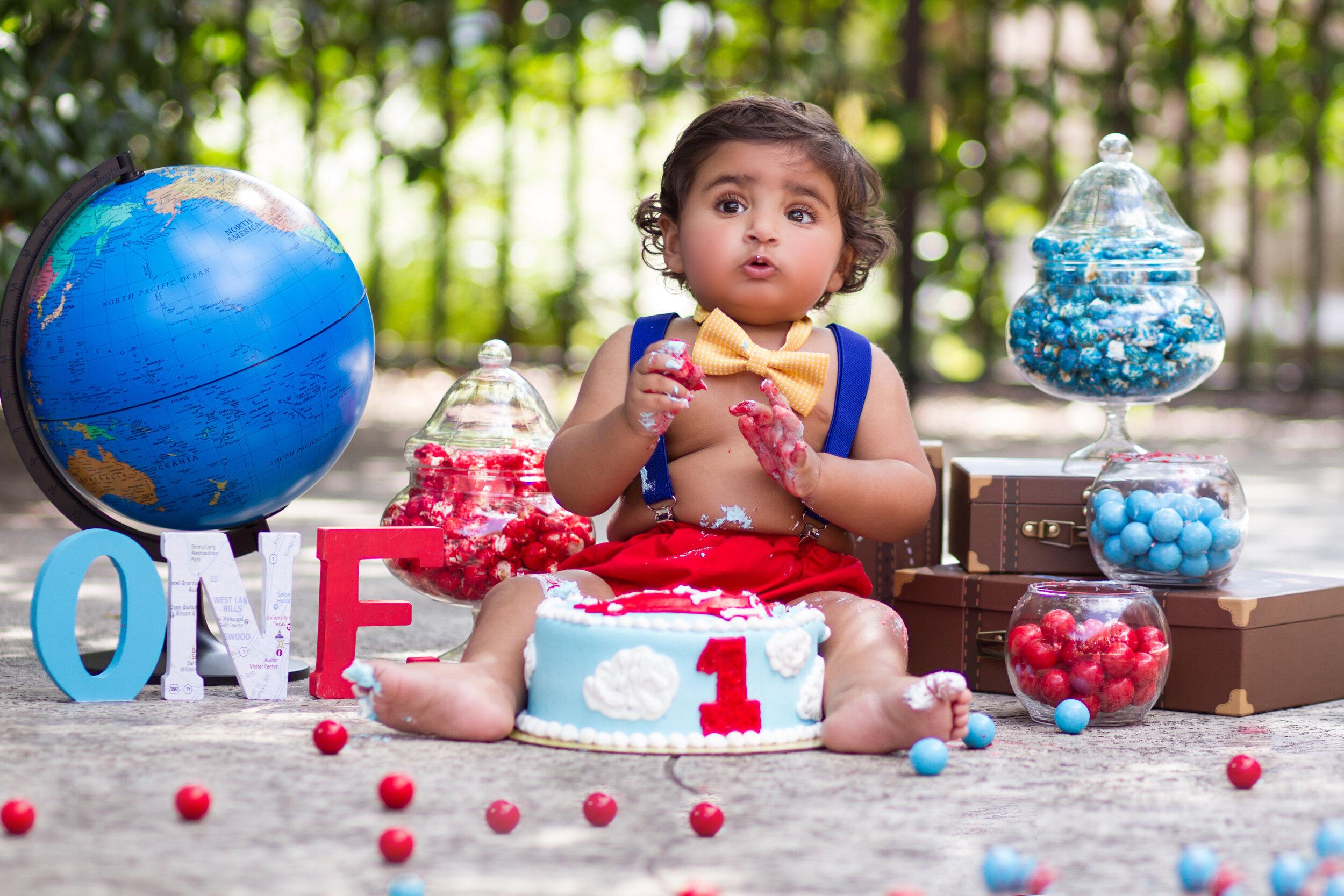 cake smash photographer cedar park