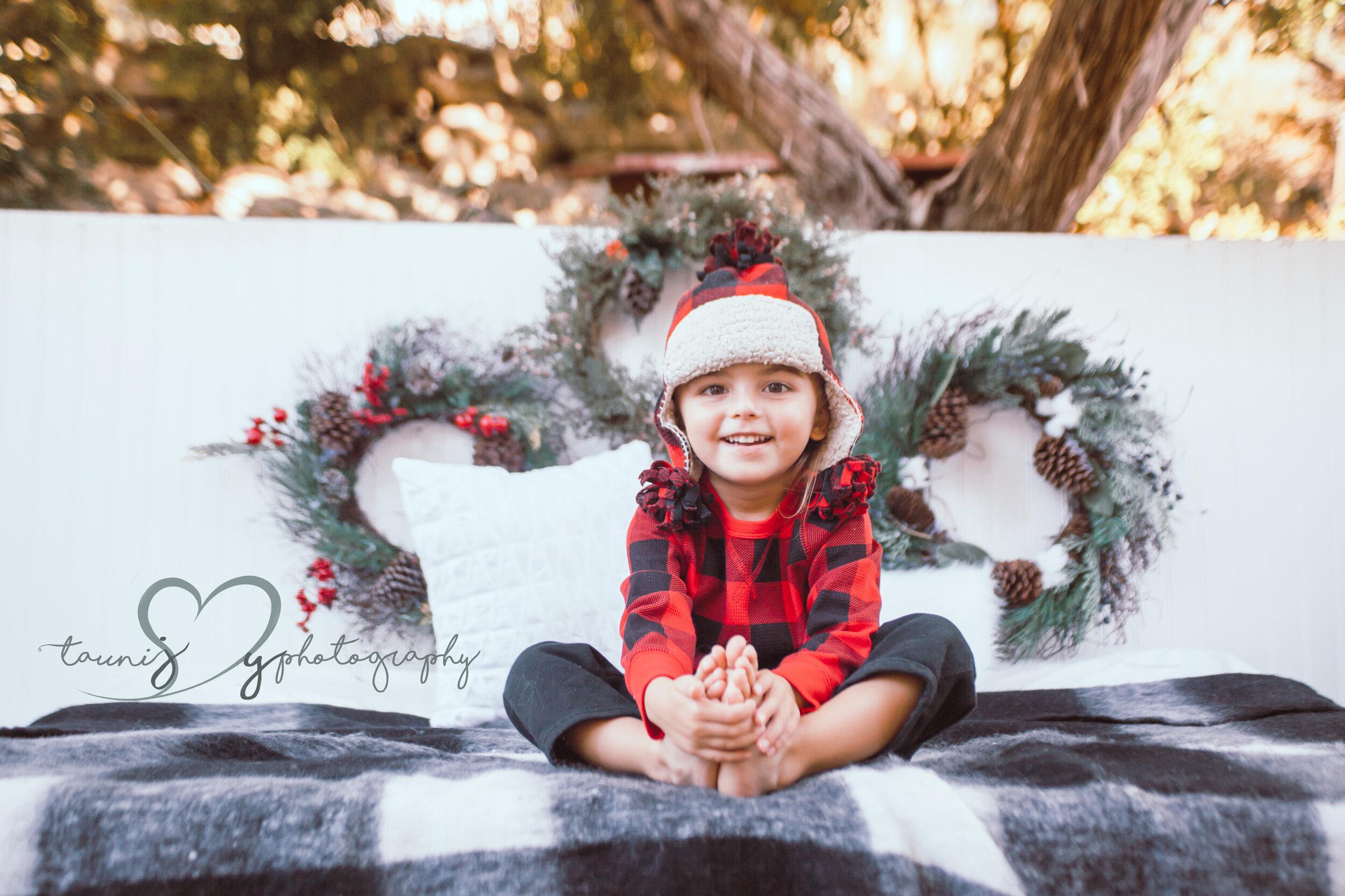 austin christmas mini photographer