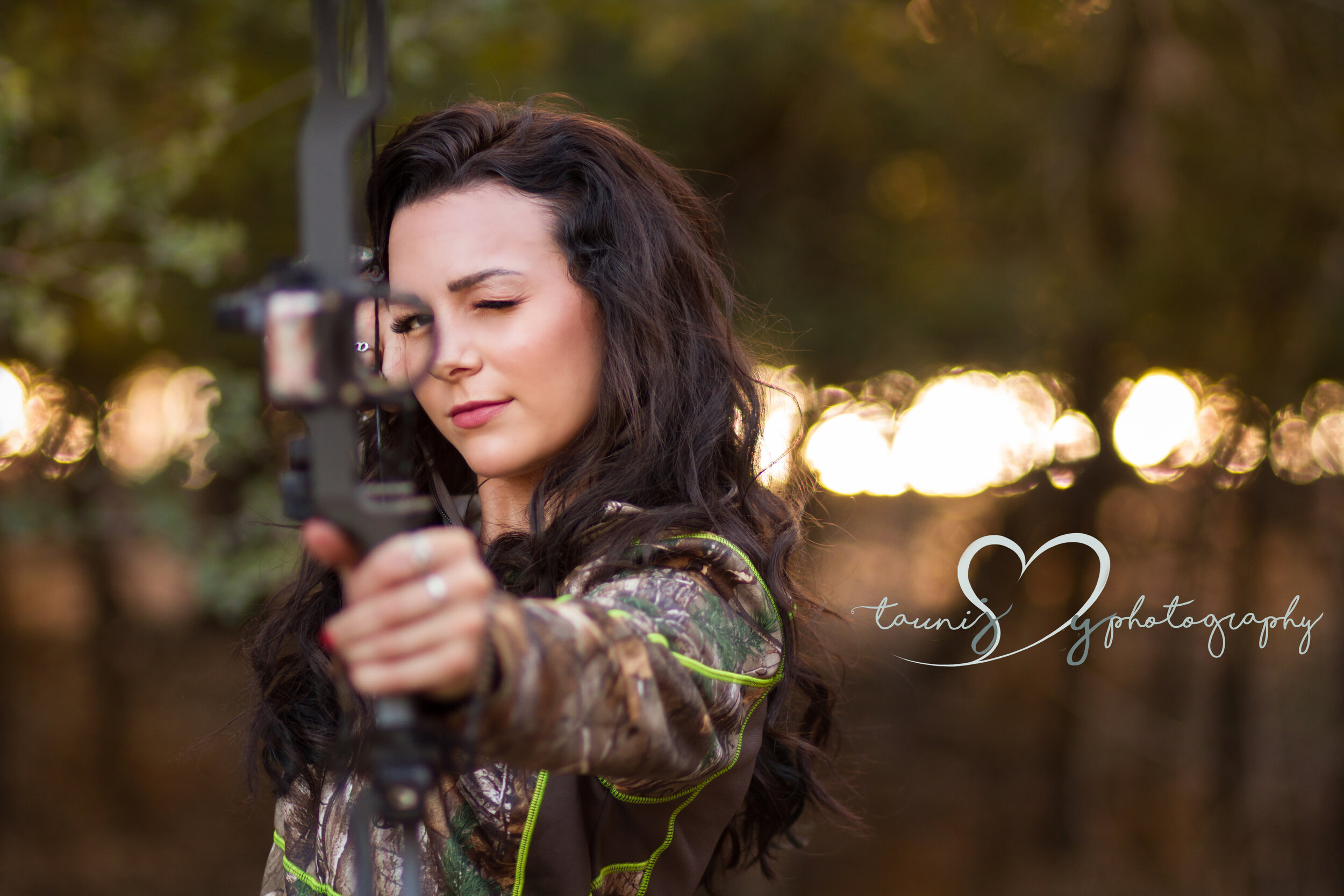 I don`t wear bows , I shoot em.  See what I mean , she is one bad chickaroo