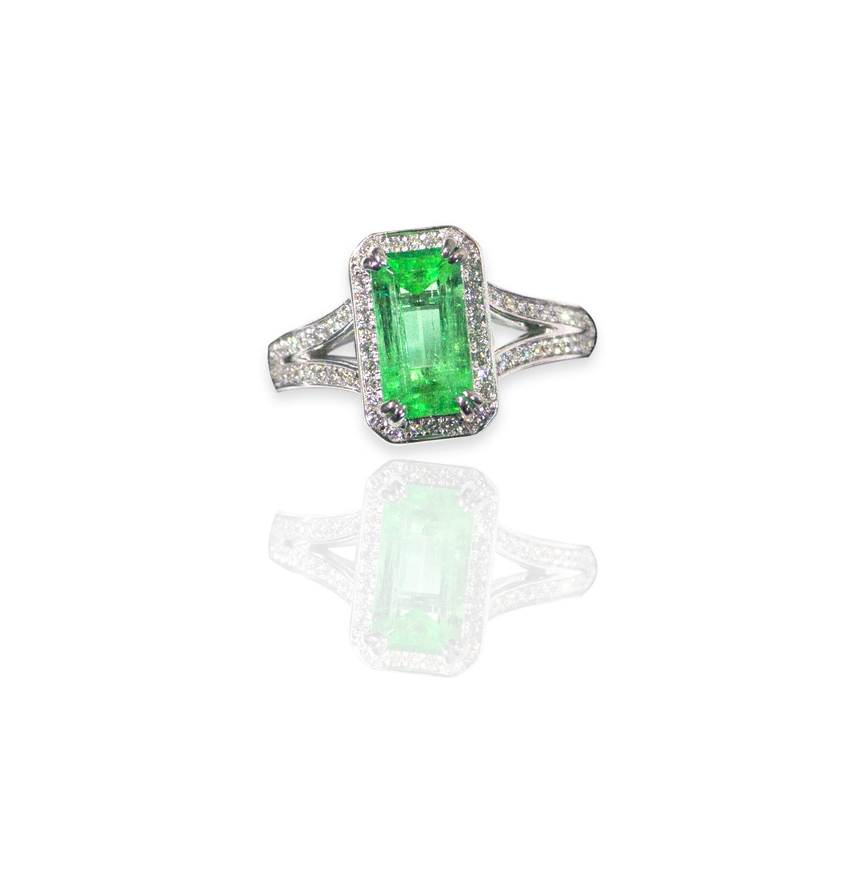 Columbian Emerald ring!