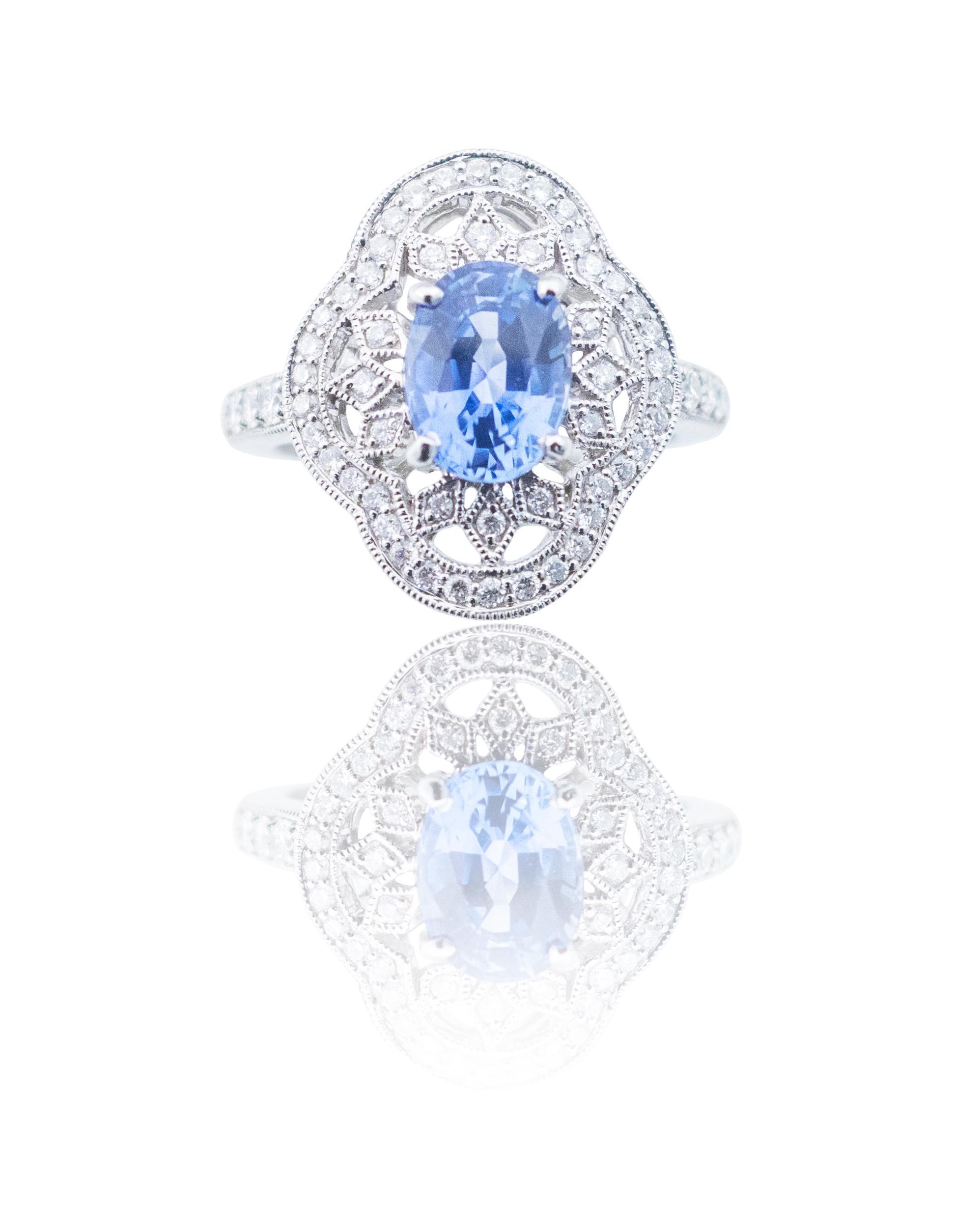 Sapphire ring!