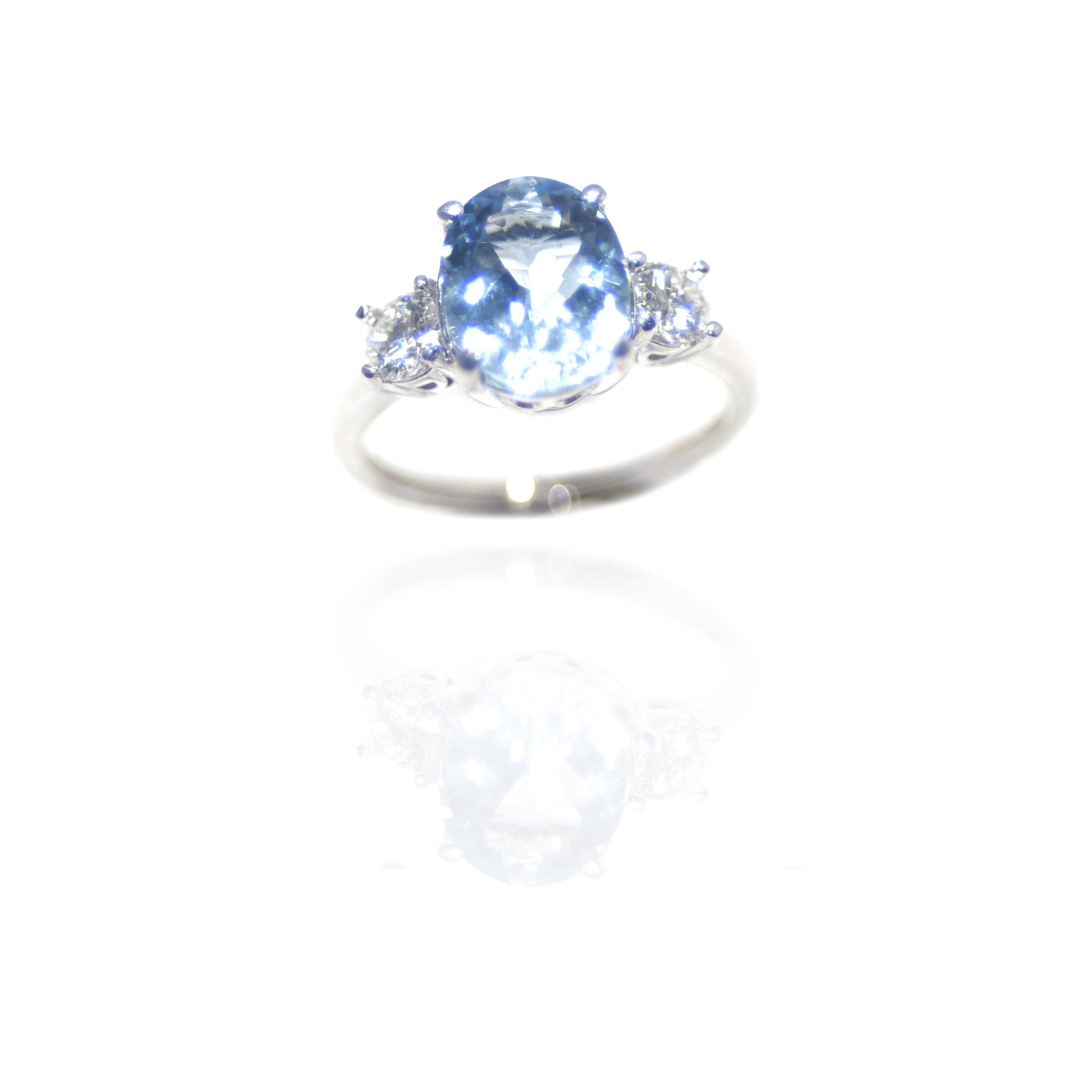 Aquamarine ring!