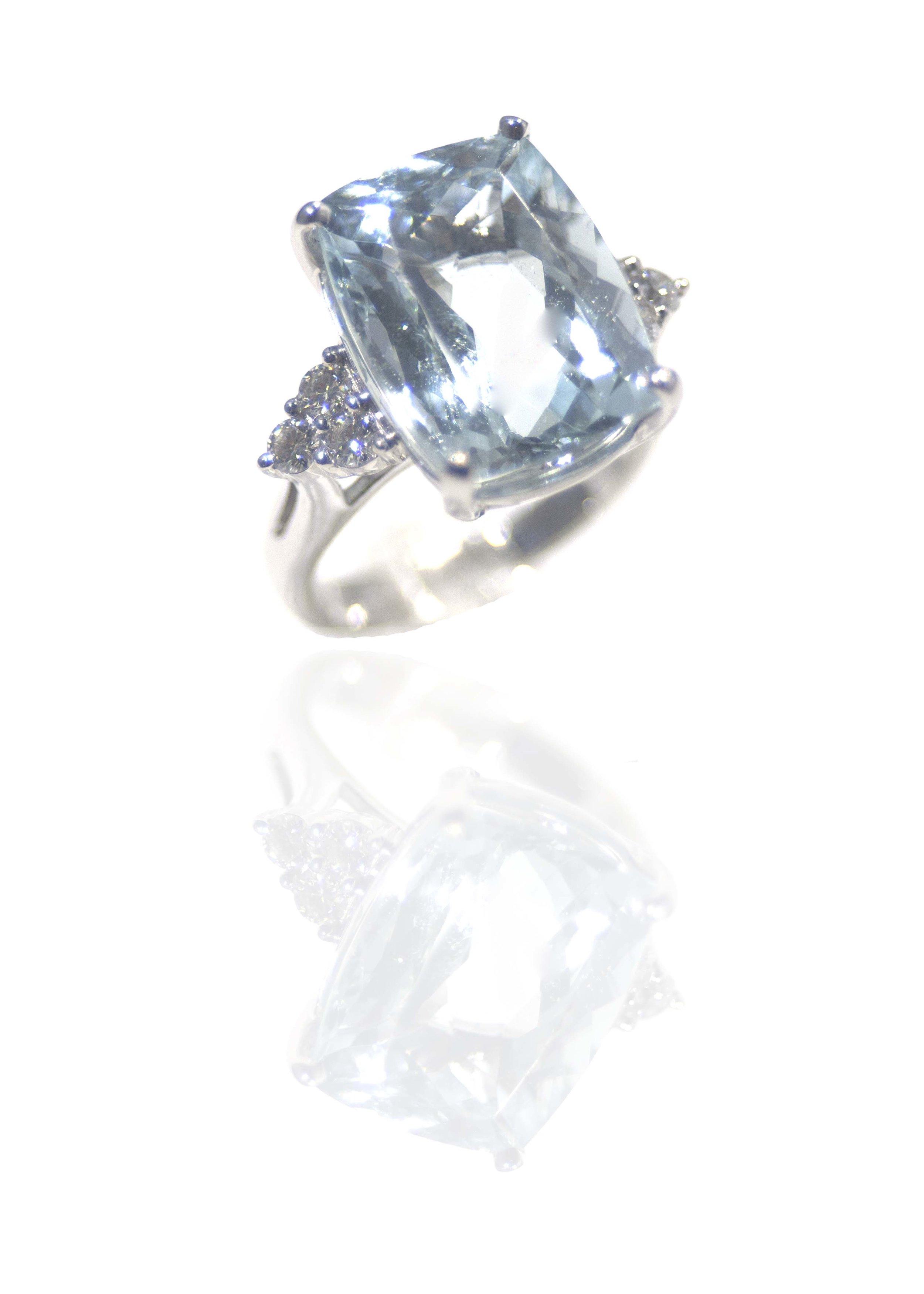 Aquamrine ring!