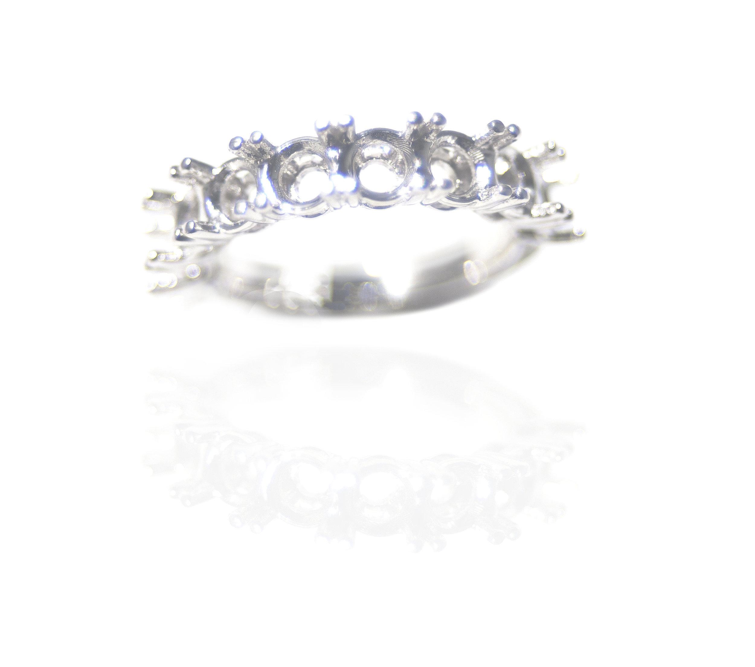 Diamond setting ring!