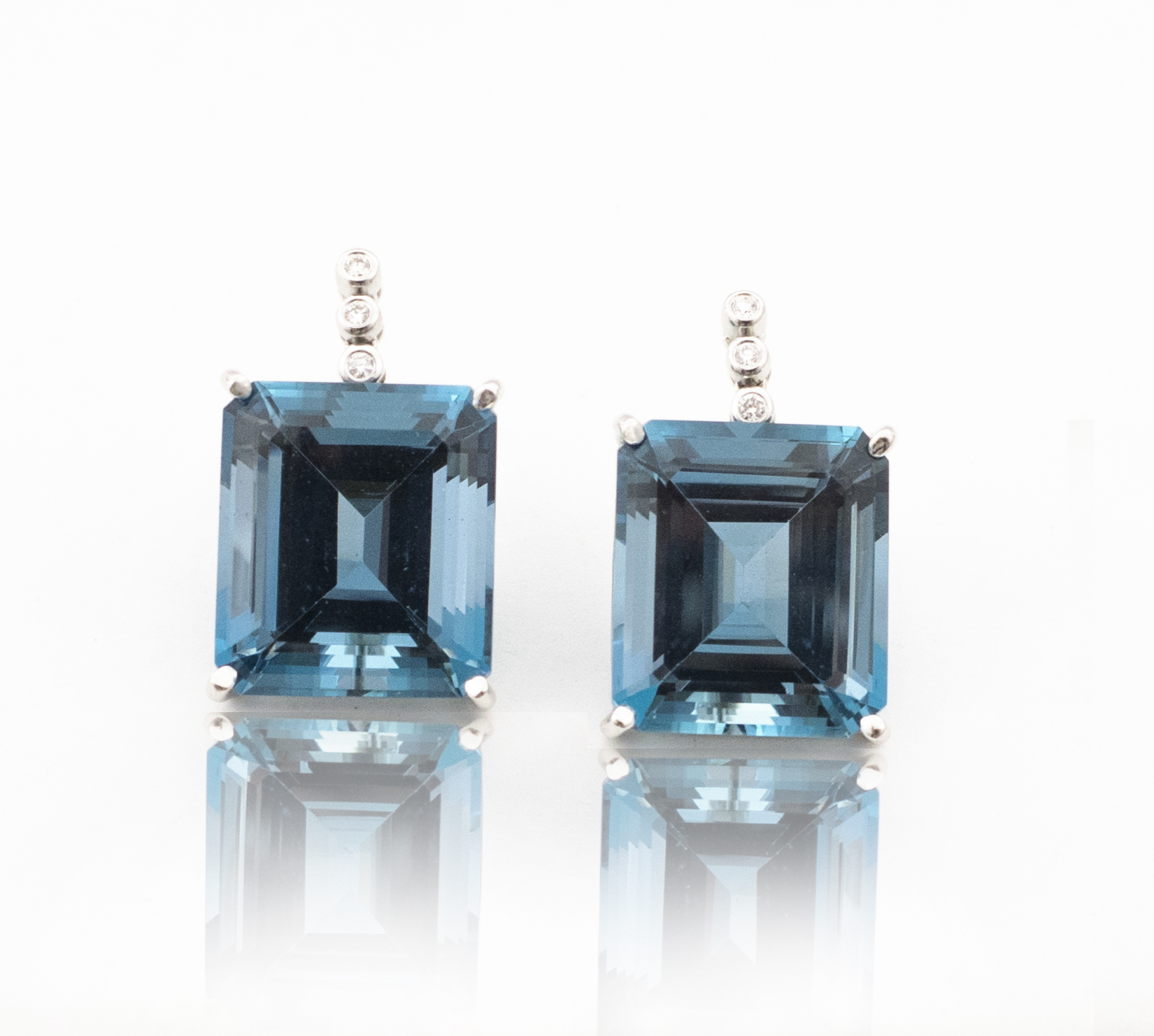 Topaz drop earrings!