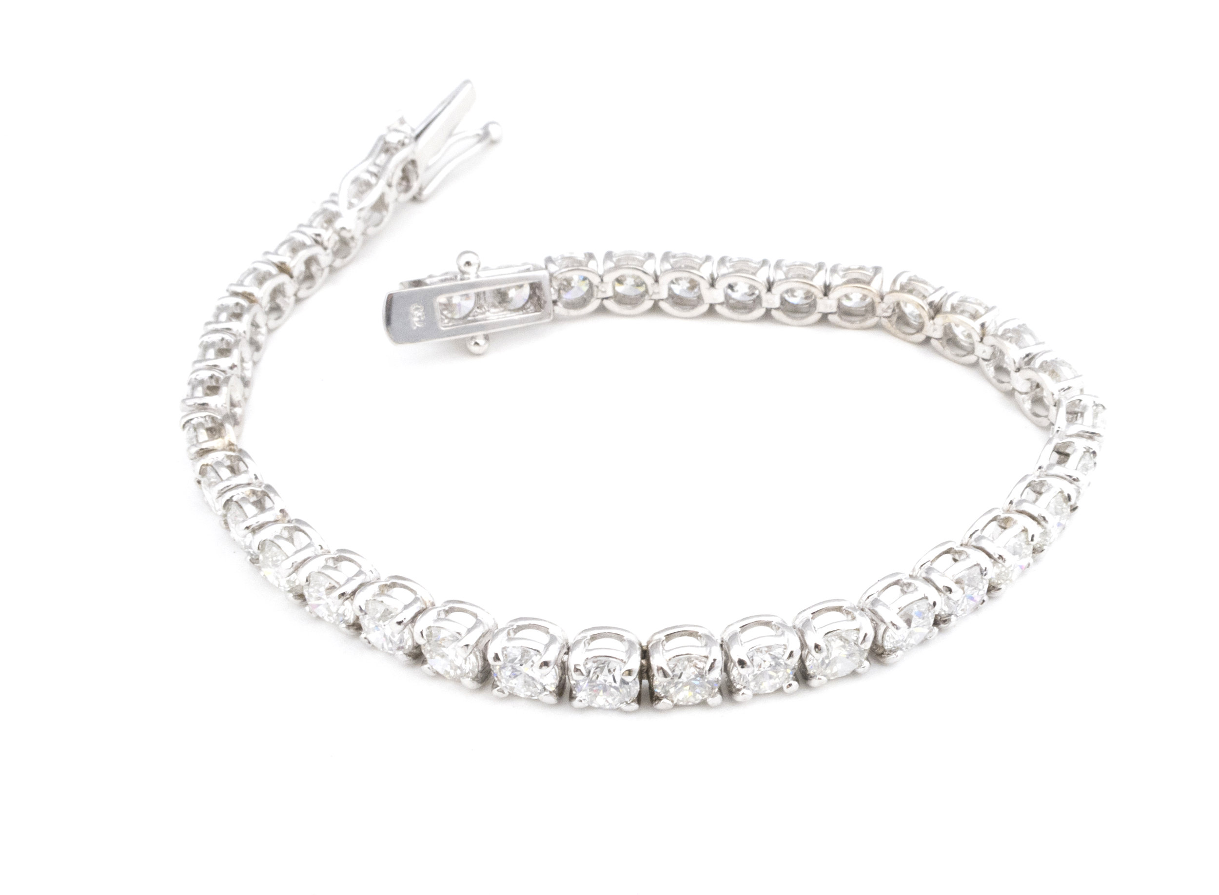 Diamond tennis bracelet! - SOLD!