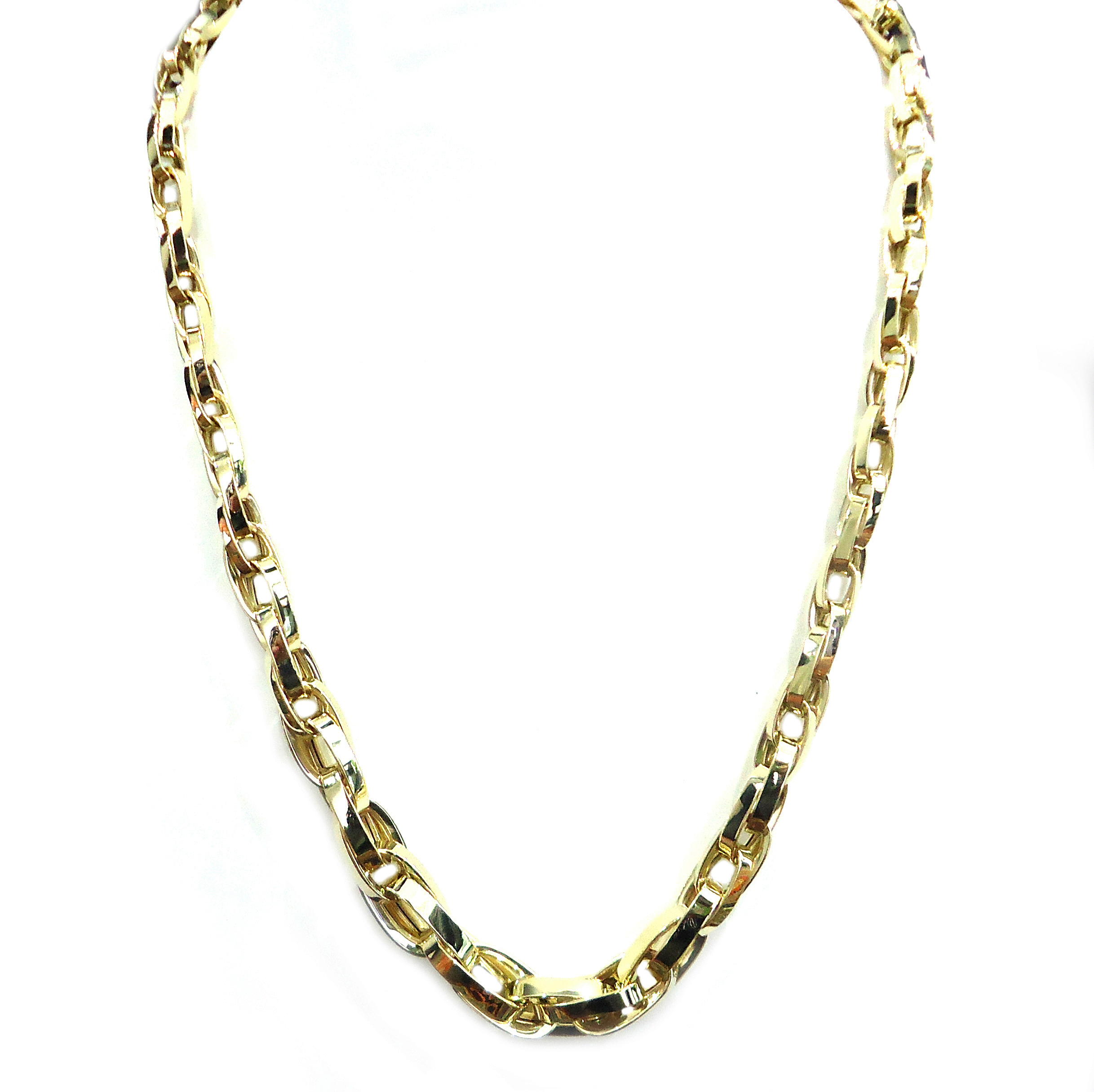 Yellow gold chain necklace!