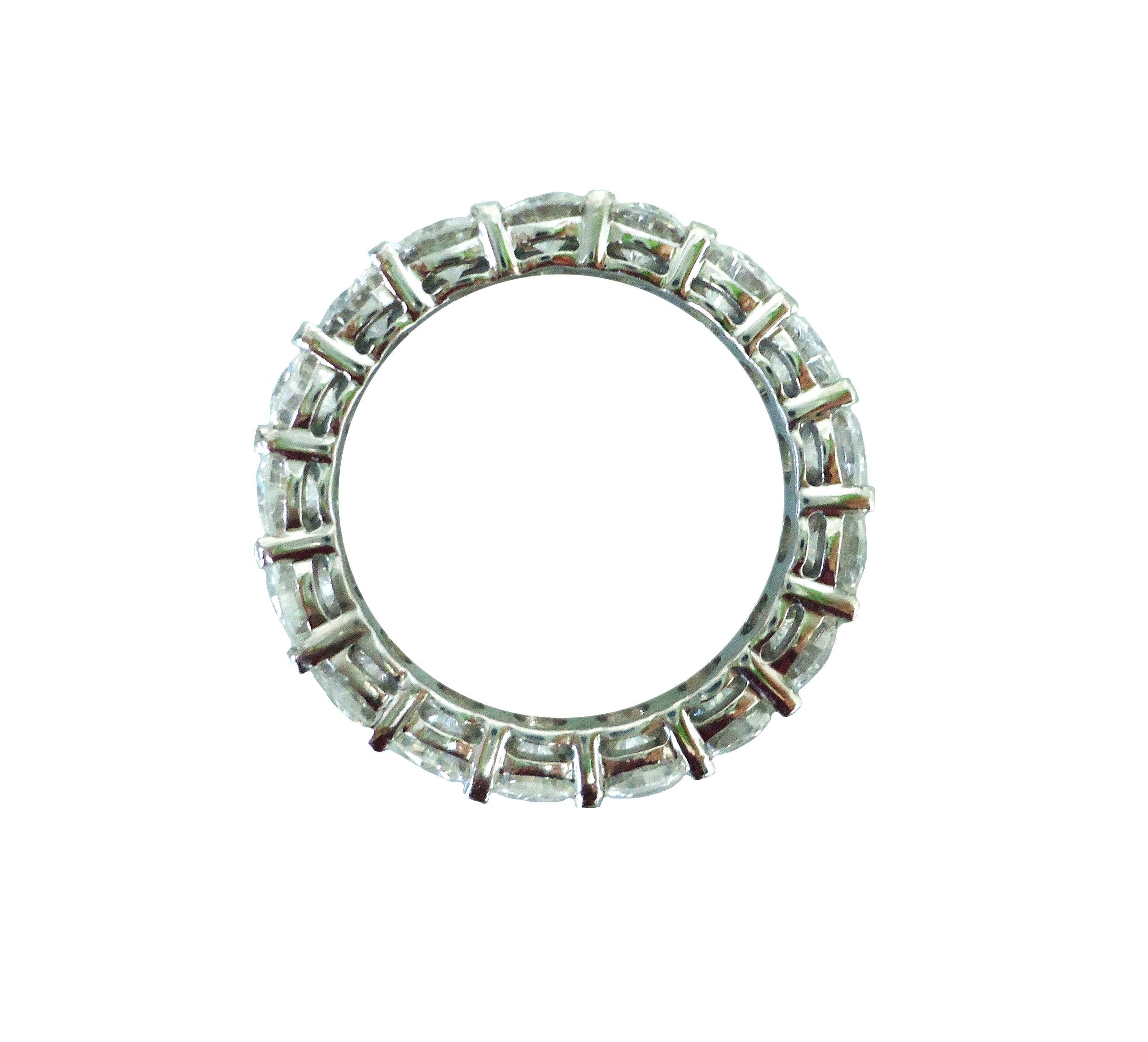 Eternity Moissanite ring!