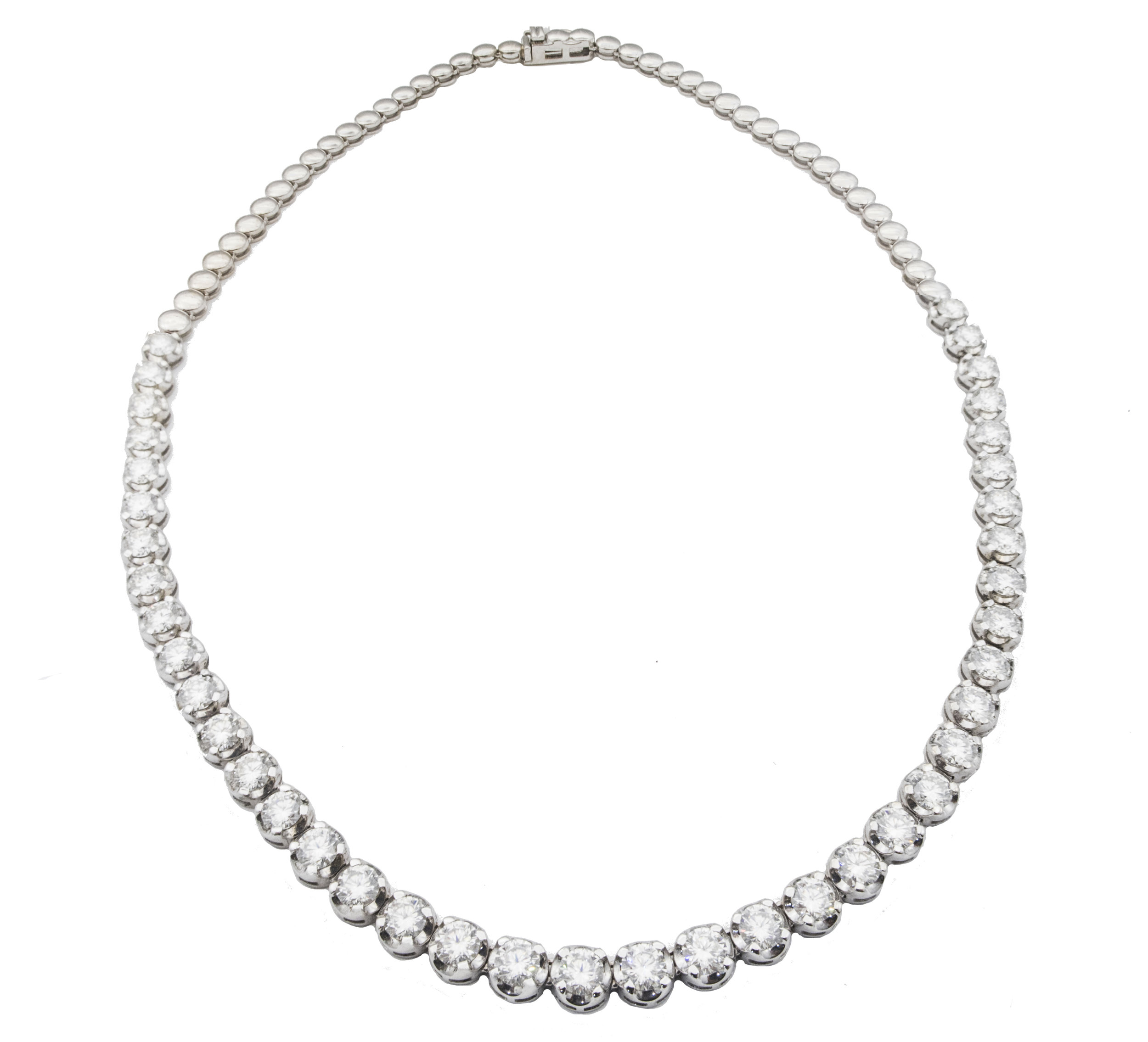 Moissanite necklace!
