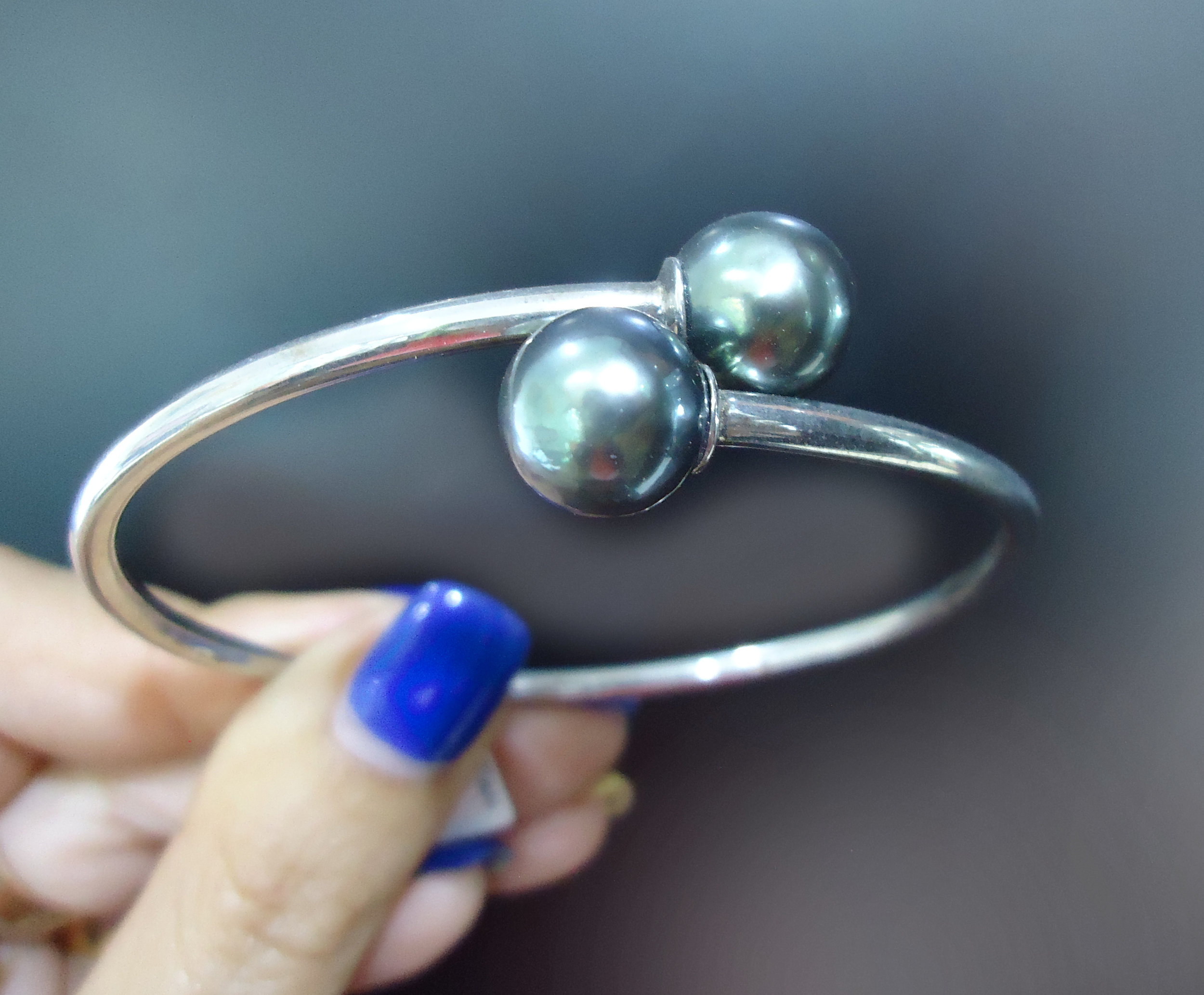 Tahitian pearl bangle!