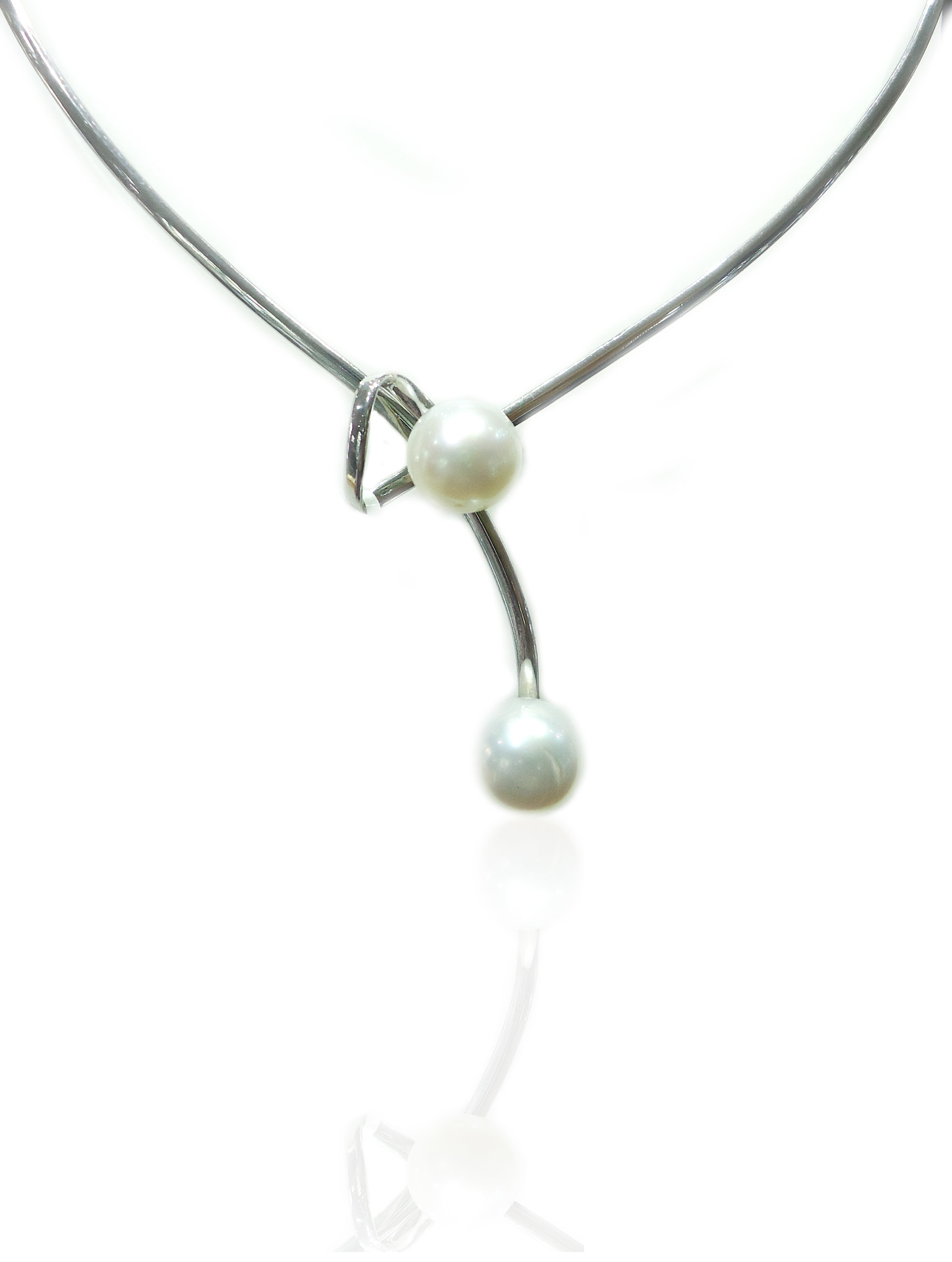 South sea pearl silver pendant!