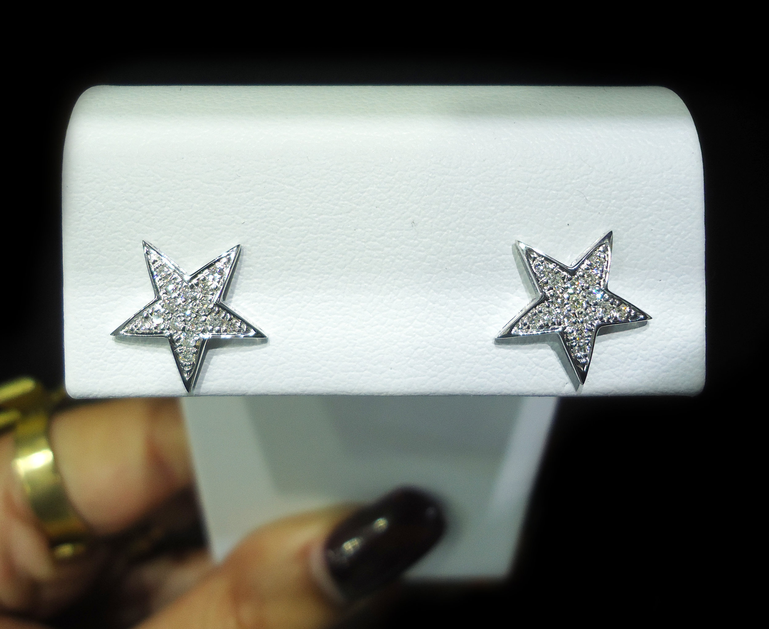 Diamond star studs!