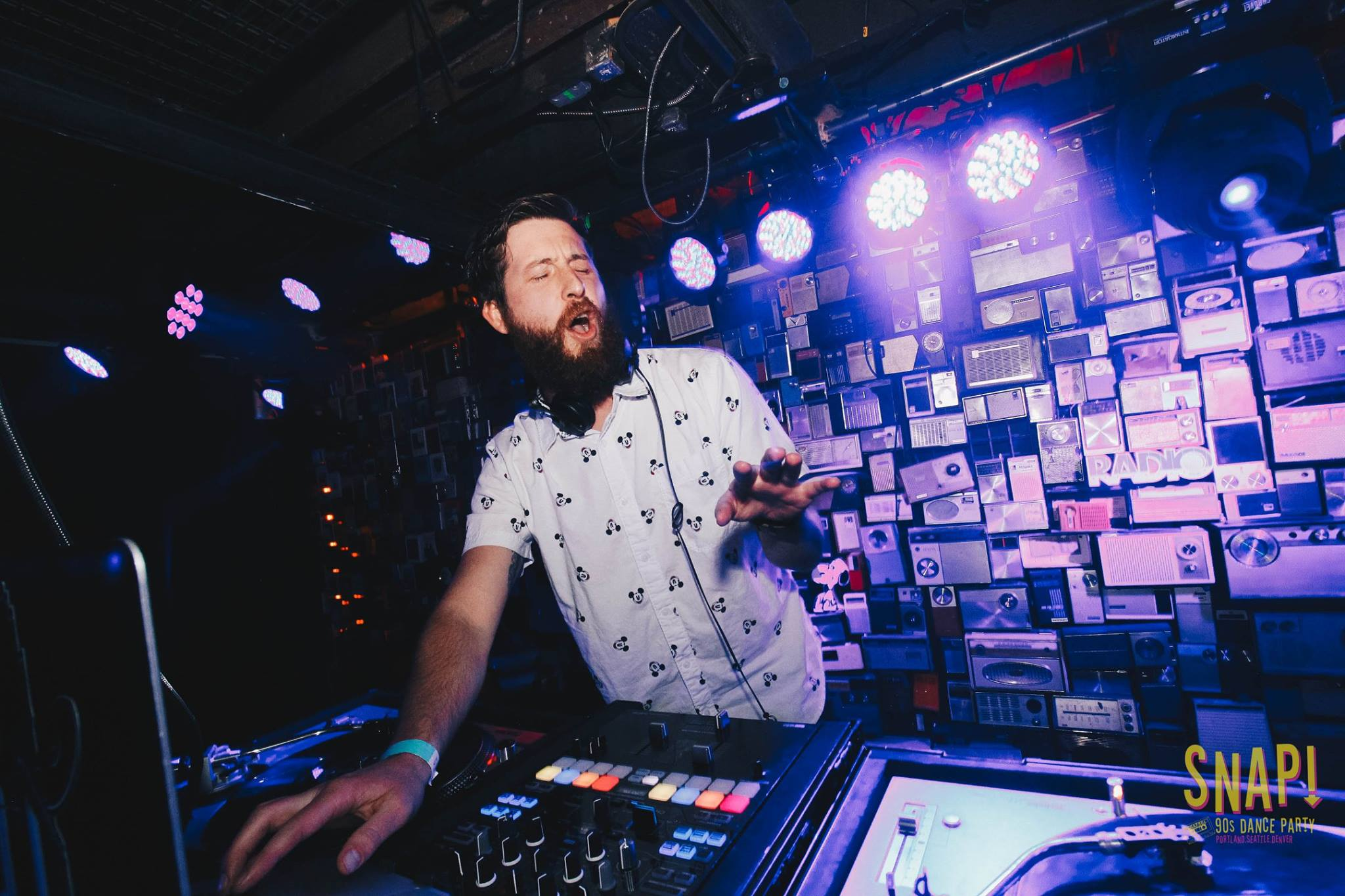 Yo Huck   Eric Lake aka Yo Huck brings his eclectic taste and aggressive mixing style to the SNAP crew to keep the crowd guessing what genre might be coming next. Beyond SNAP, you can find Huck playing funky house as part of his residency at STEAM Wednesdays at Bar Standard.