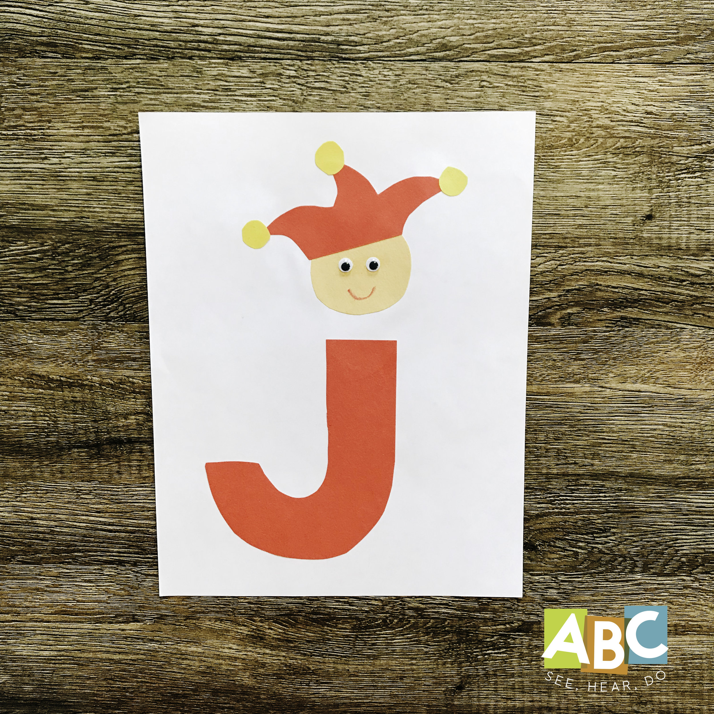 Letter j Crafts and Activities — ABC See, Hear, Do