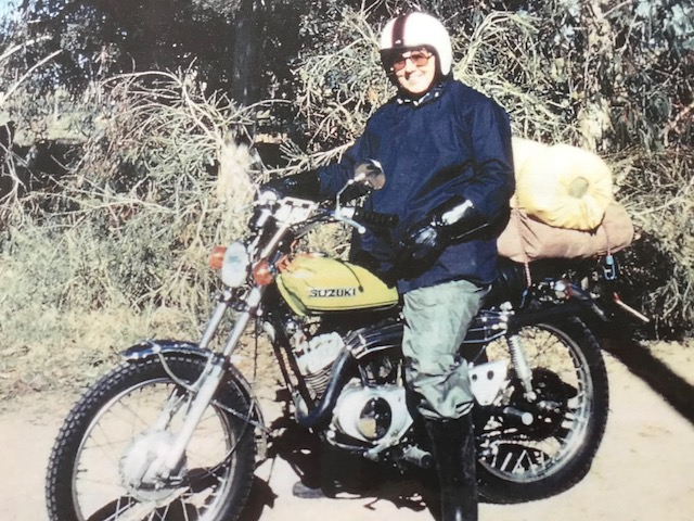 my second bike. I was doing quite a bit of camping/touring on this bike