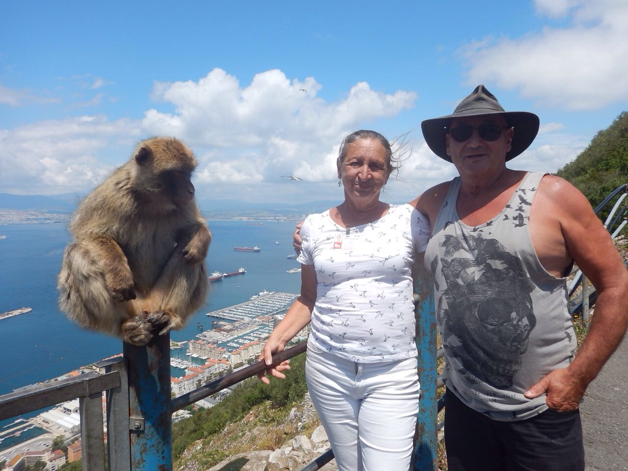 two gibraltarians and an Aussie