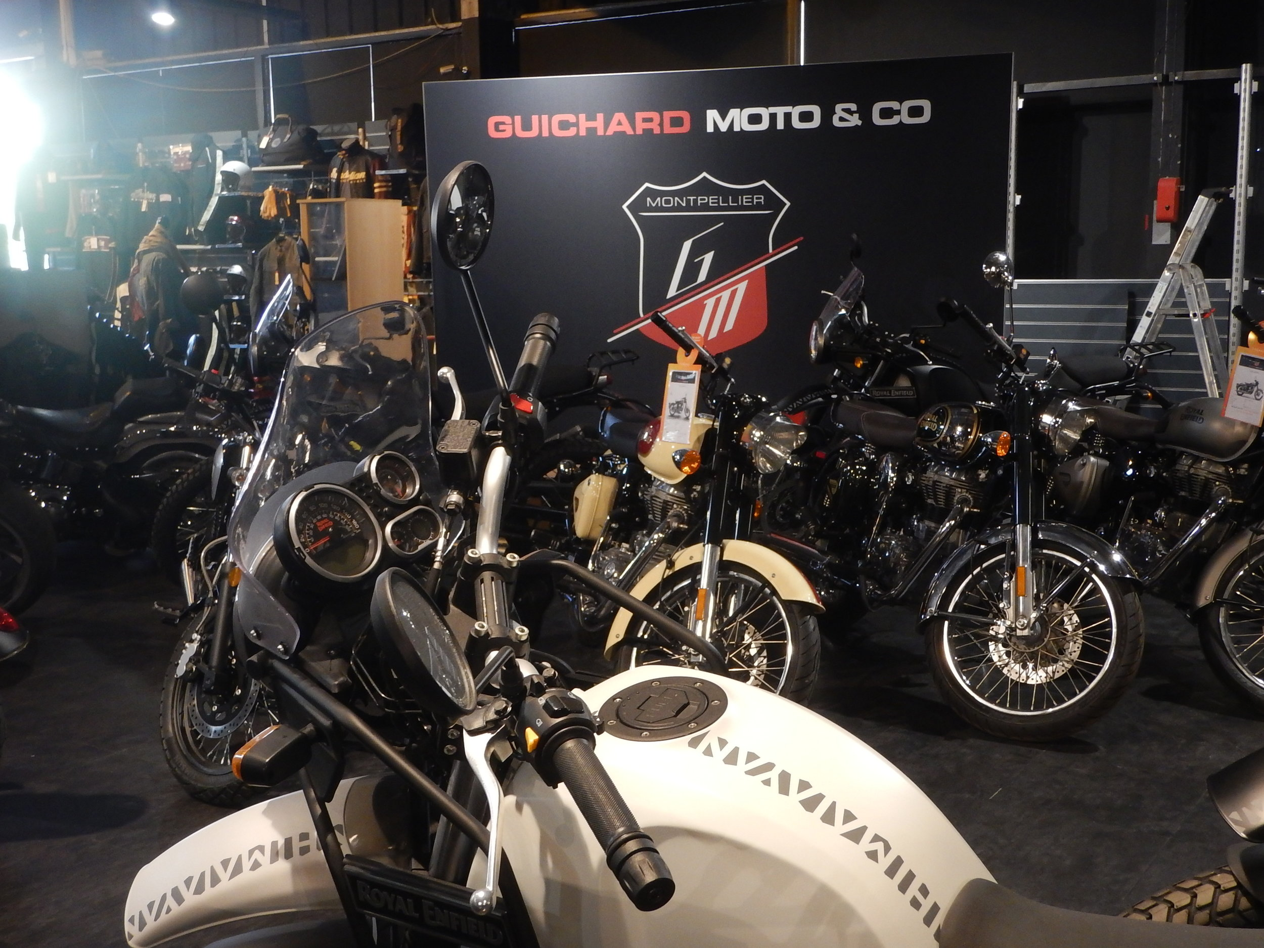 guichard moto in Montpellier, Royal Enfield and IndIAN dealers