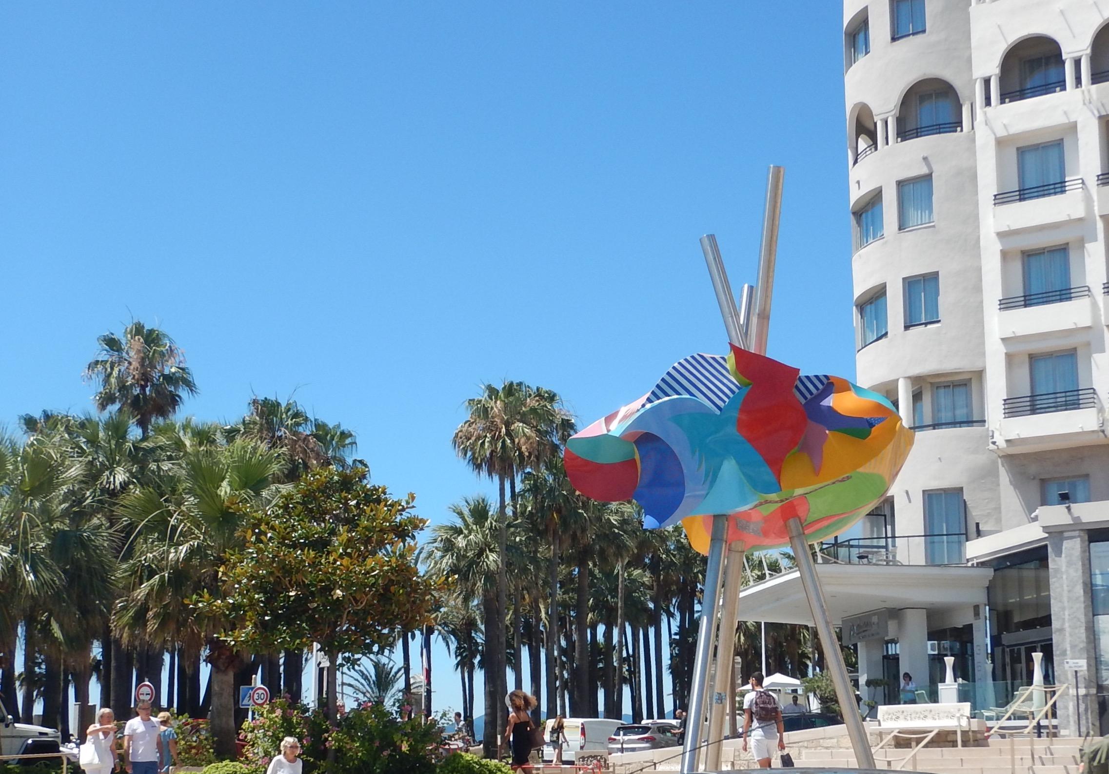 Cannes sculpture