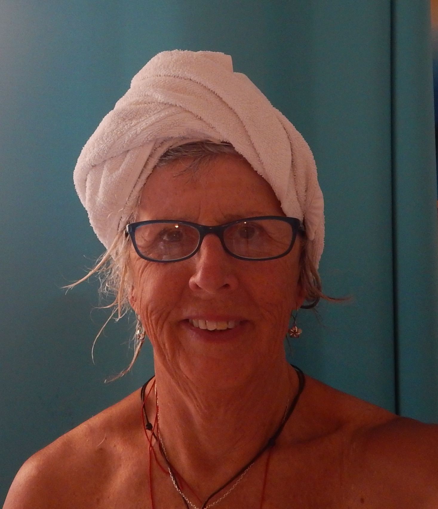 And then there is towel head after washing my hair in the shower!!