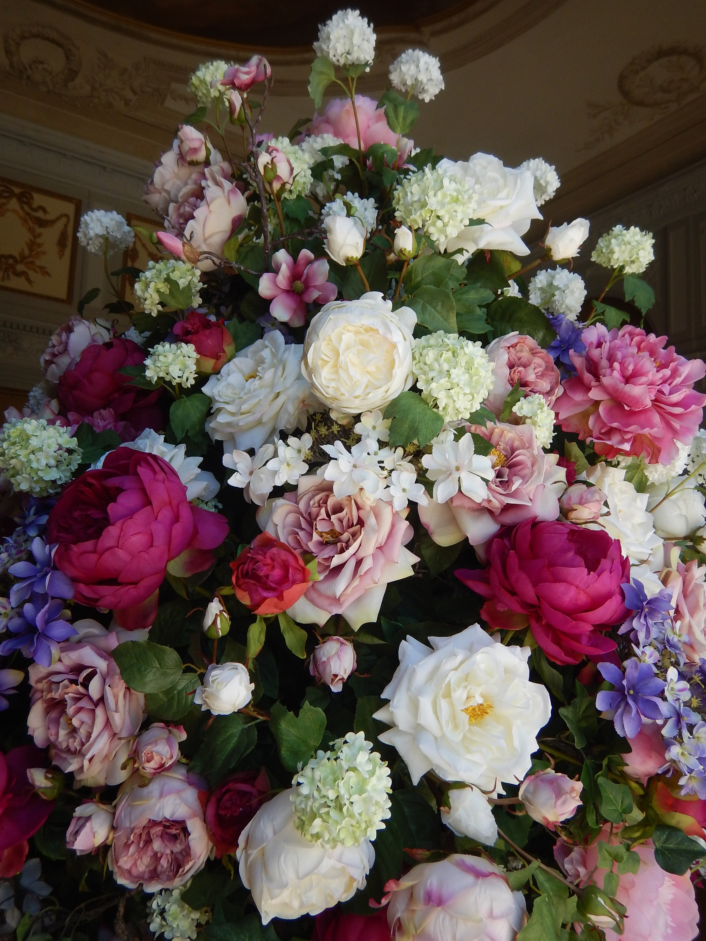 beautiful floral arrangement.