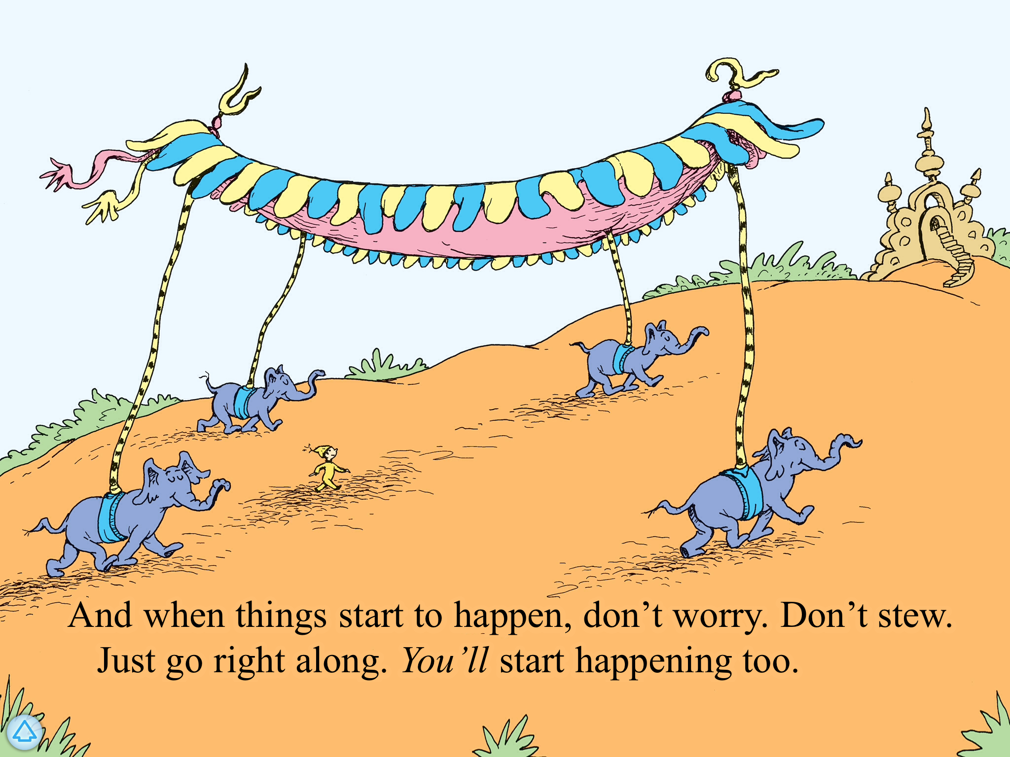 From Dr Zuess story Oh the places you'll go!!