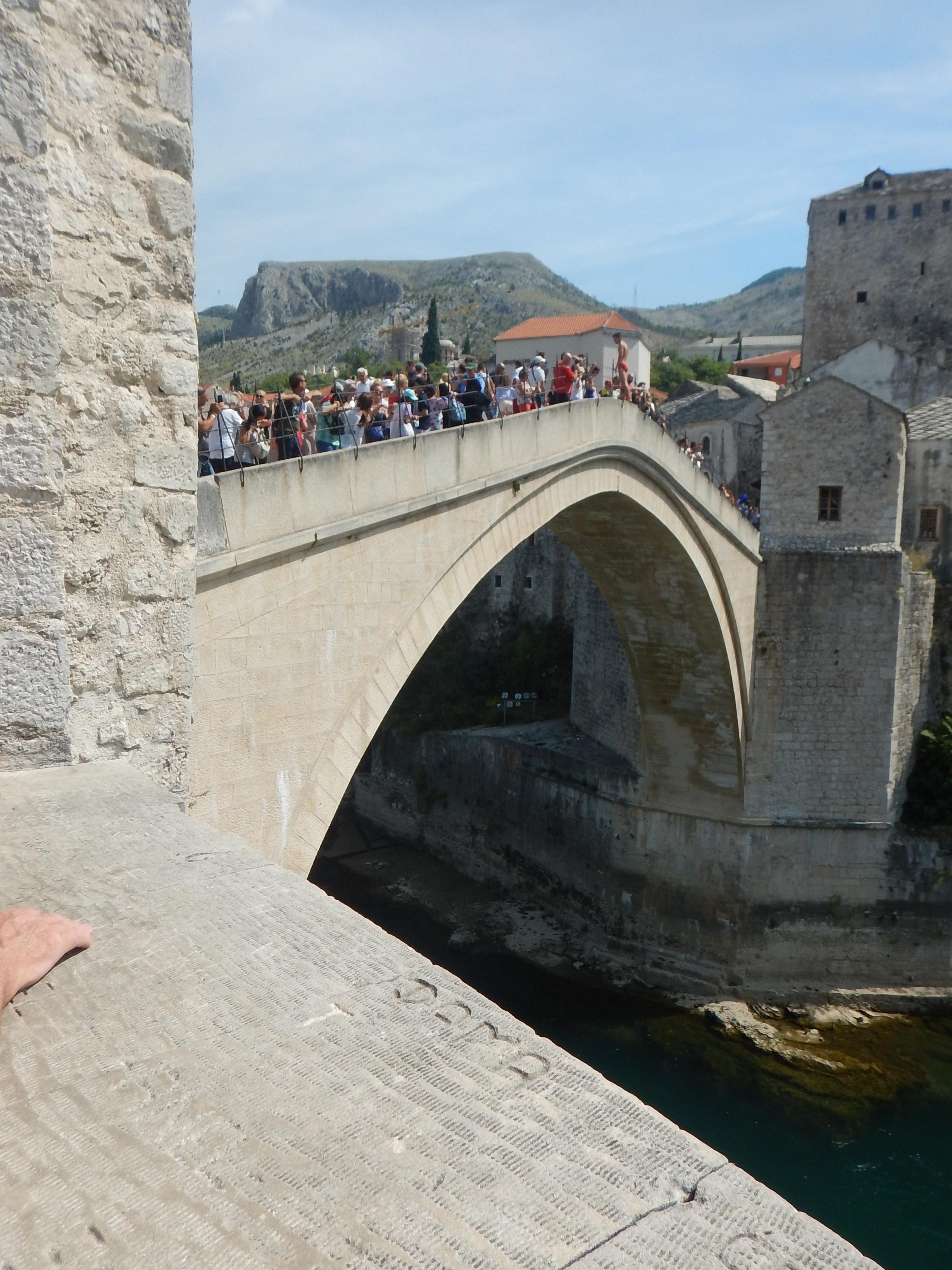 The beautiful Bridge, built, bombed and rebuilt
