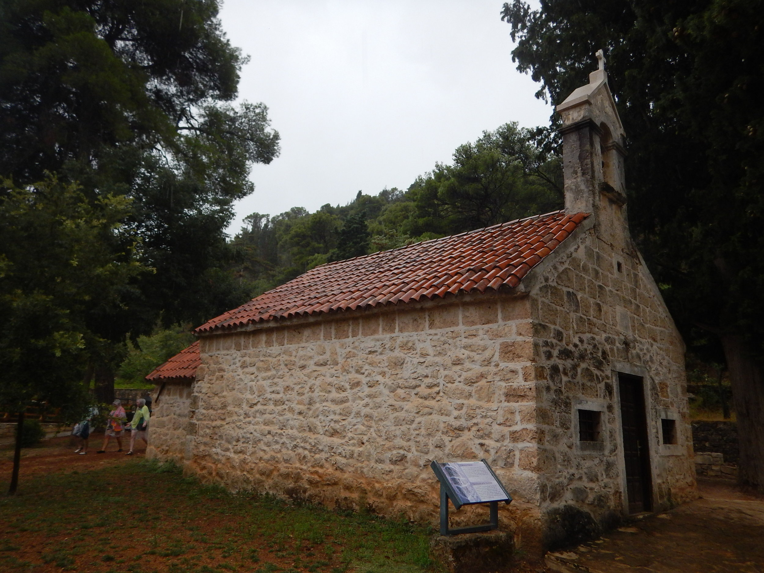 St Nicholas Church in Krka National Park, Croatia