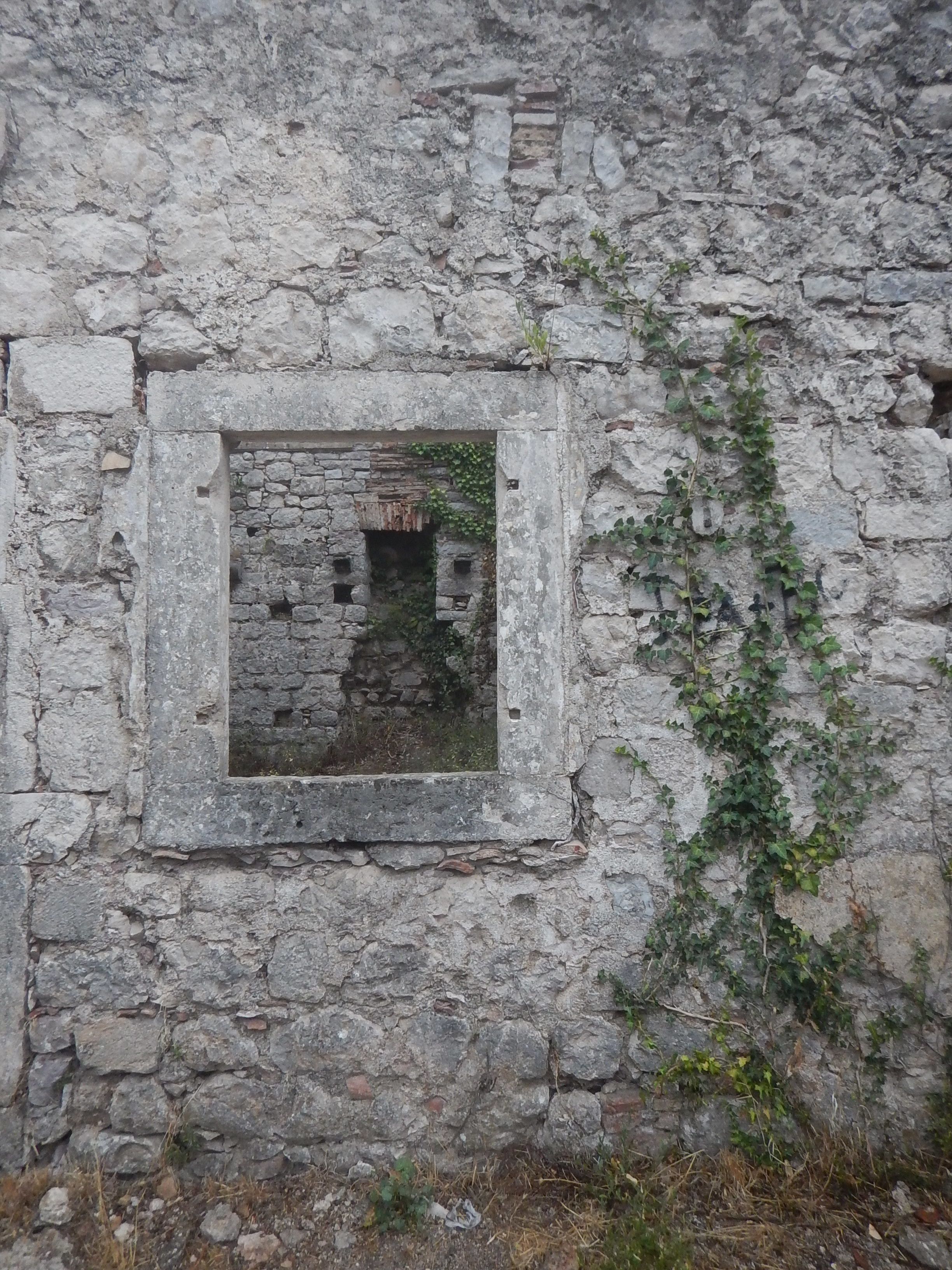 Some window details from San Giovanni's Castle.