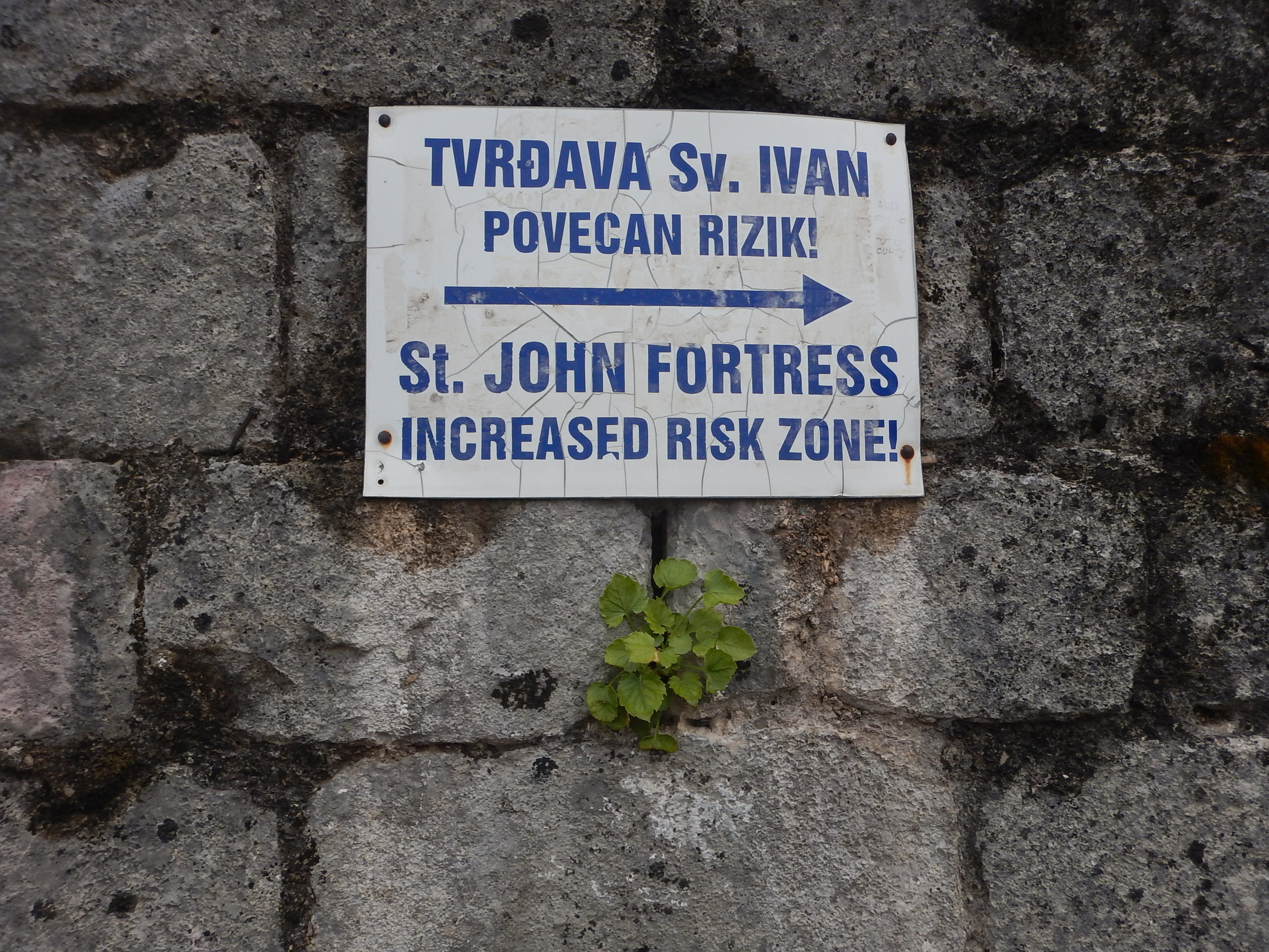 I didn't realise until I read this sign that Ivan, John and Giovanni are one and the same!