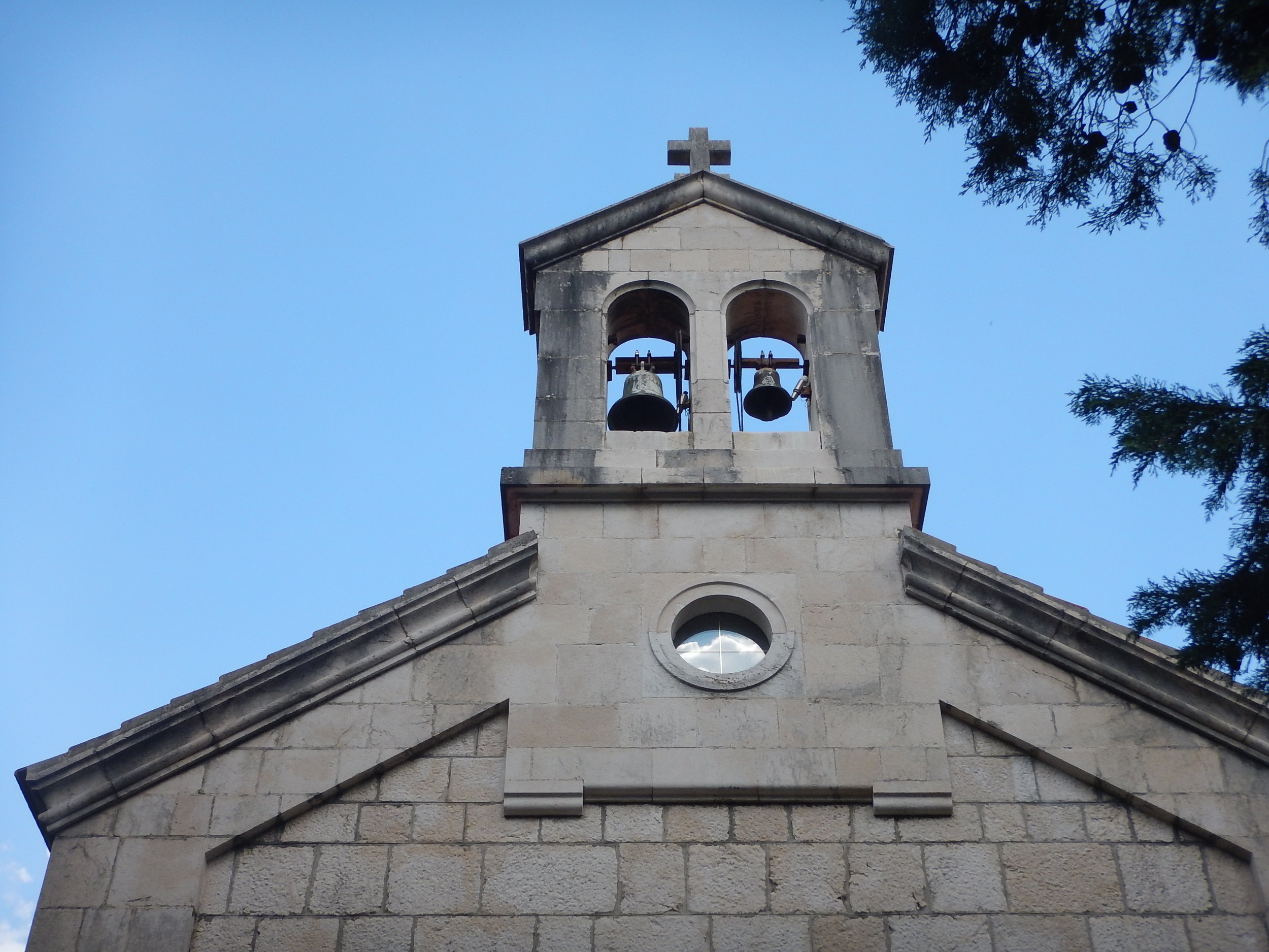 Interesting little bell tower.