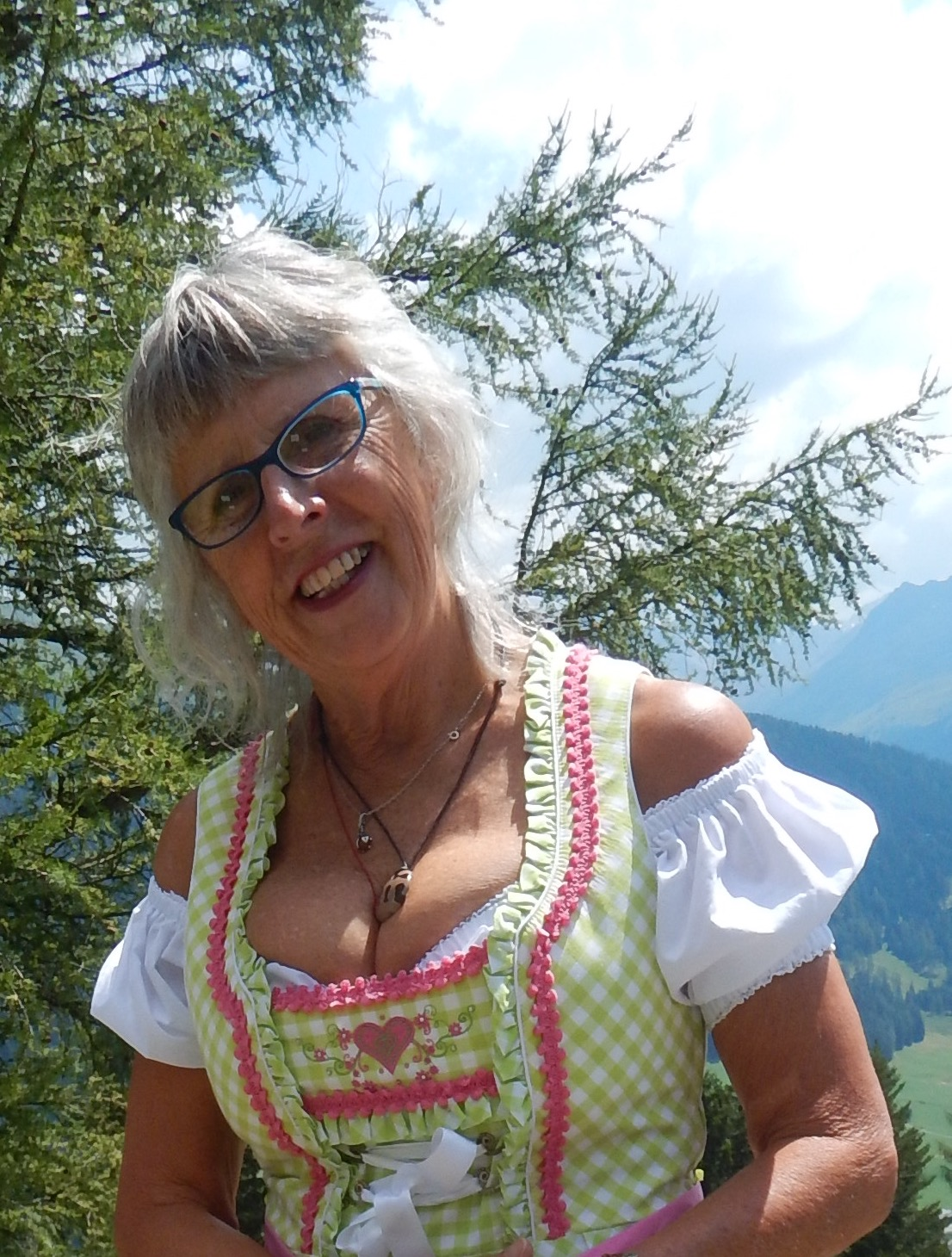 My yodelling costume made all the difference of course!! Go to ALPS and challenge letter a for sample of yodelling, Swiss style.