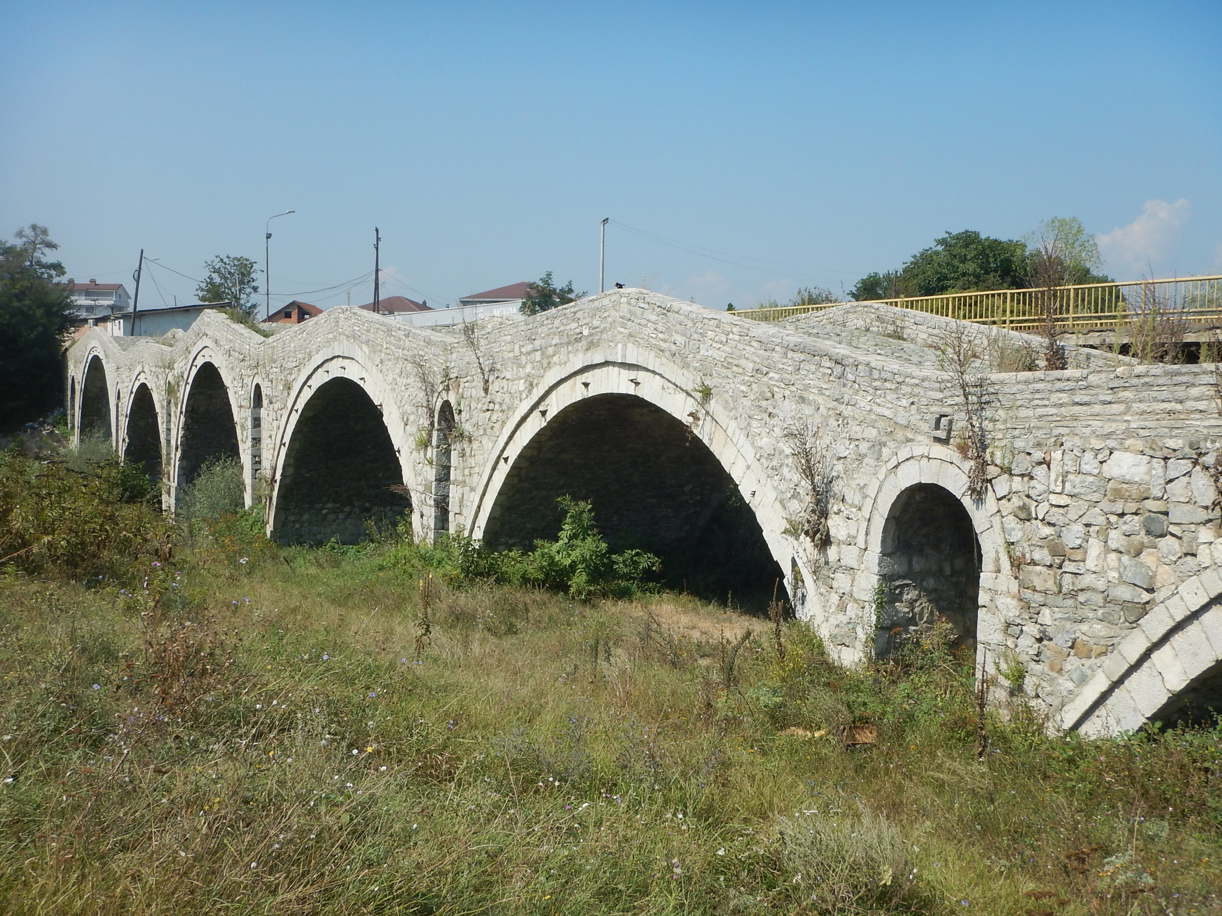 I keep asking but I can't find out much about the history of this bridge.