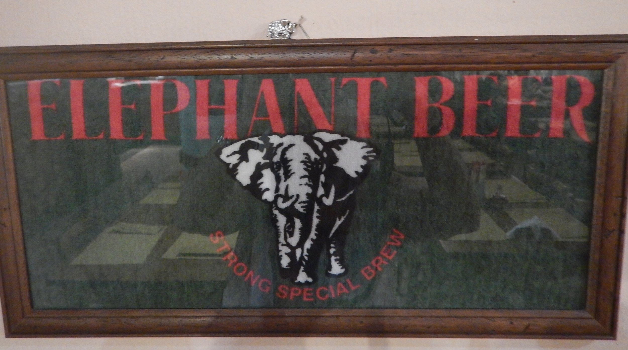 Elephant beer in Italy!!