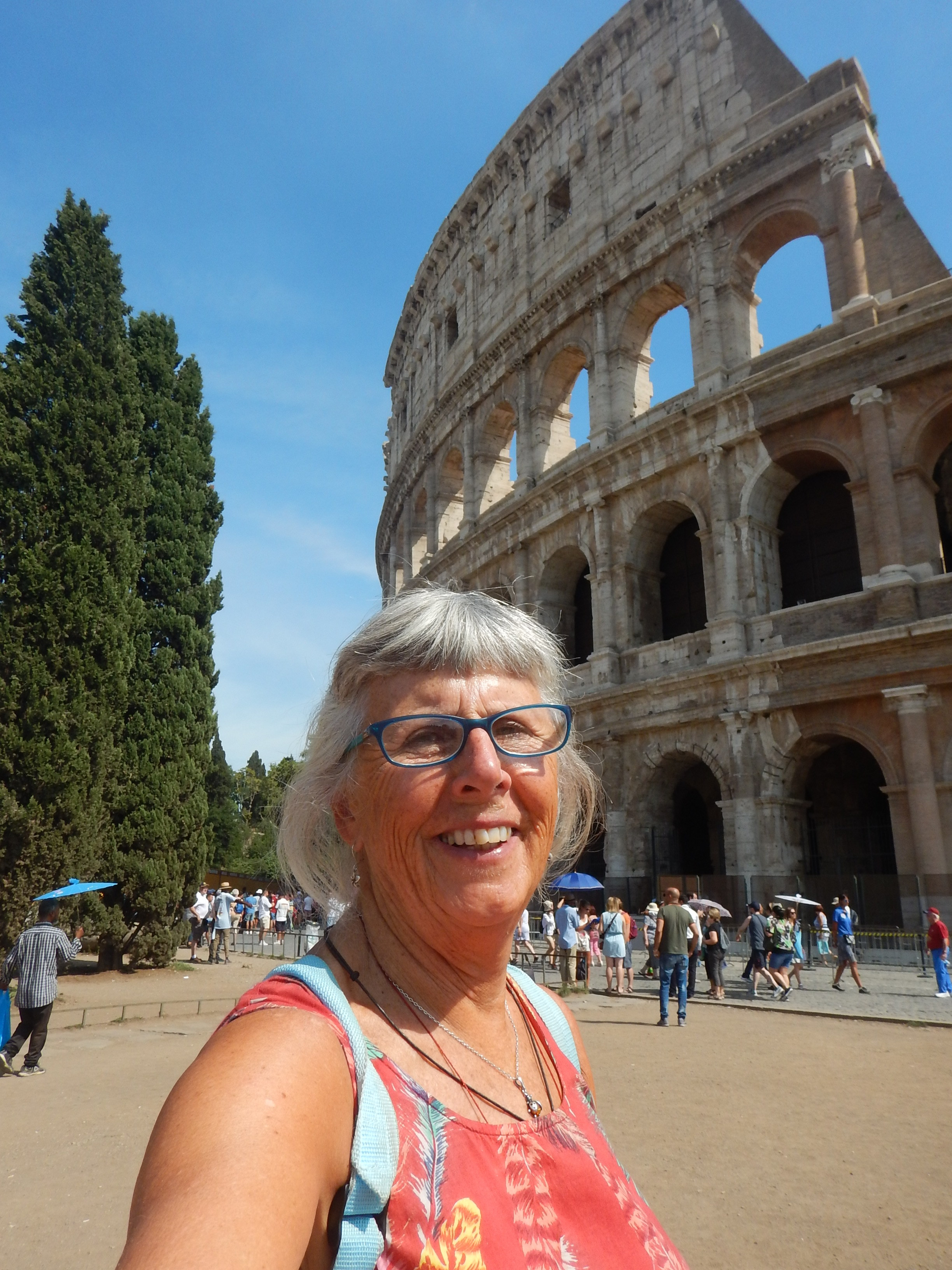 the Colosseum is no longer complete, over the years a huge section was destroyed in earthquakes, and more recently air pollution and other 20 C problems have contributed to further damage.